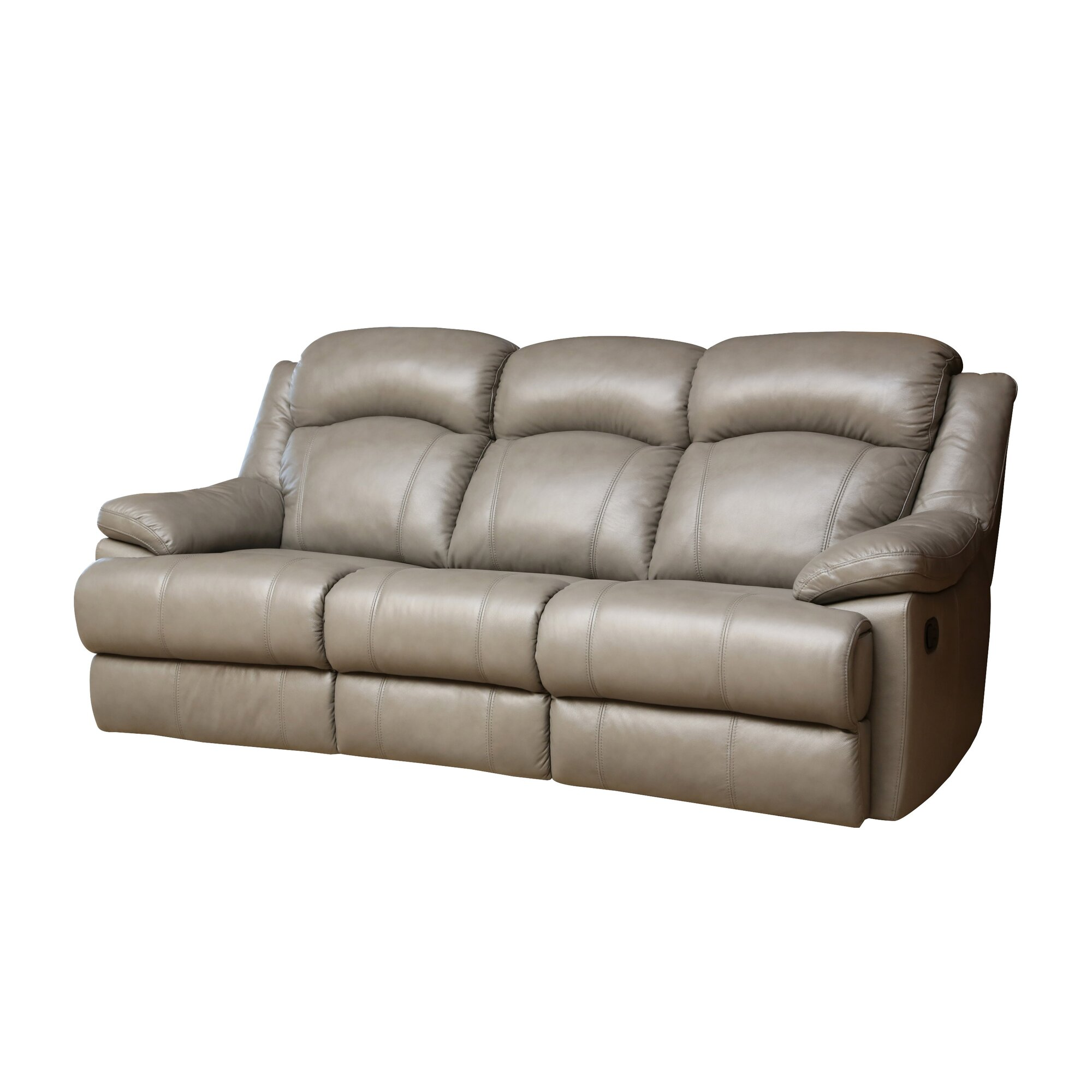 Darby Home Co Cuyler Leather Sofa And Loveseat Set
