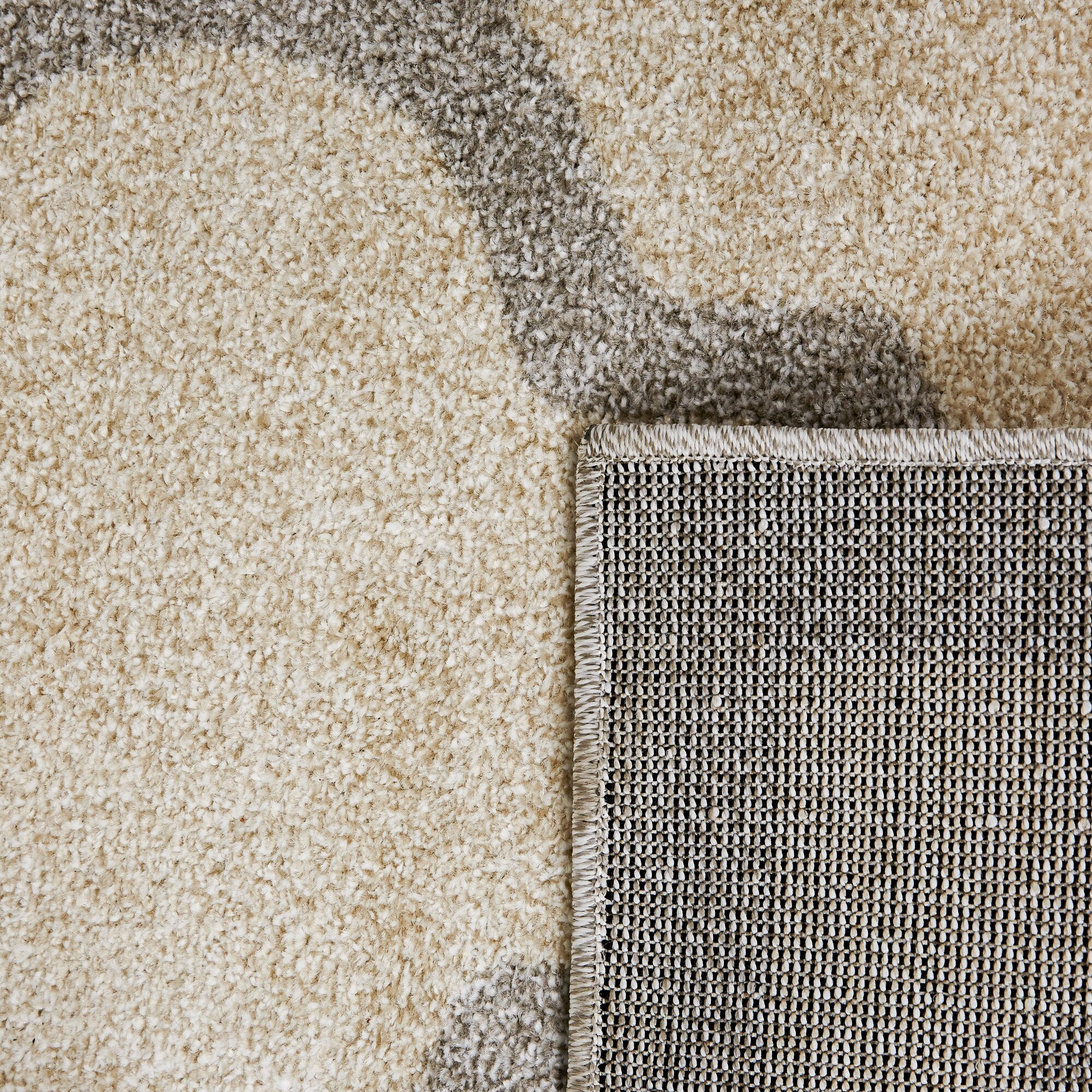 House Of Hampton Levon Beige Light Grey Area Rug Amp Reviews
