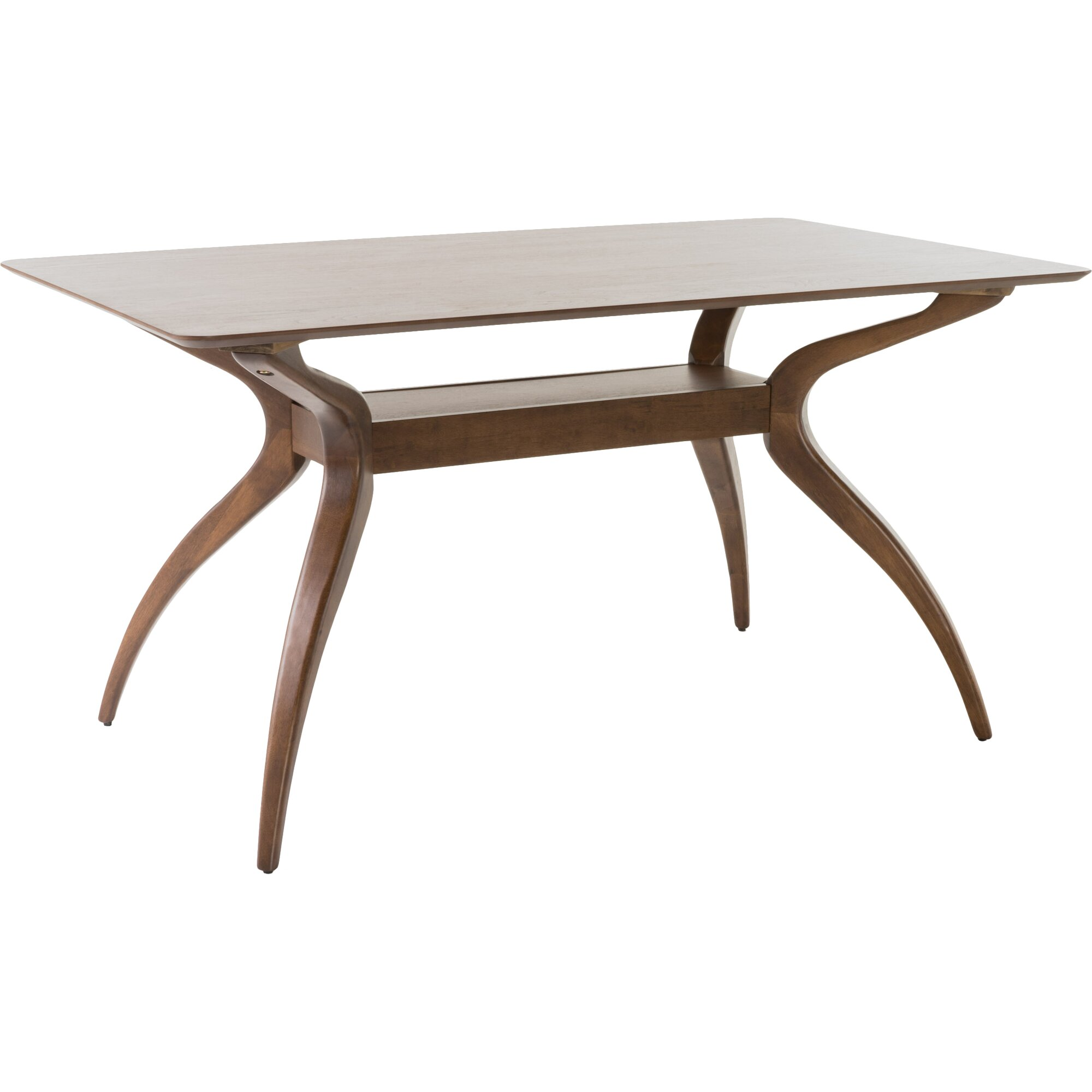 Paterson dining table reviews allmodern for Regulation 85 table a