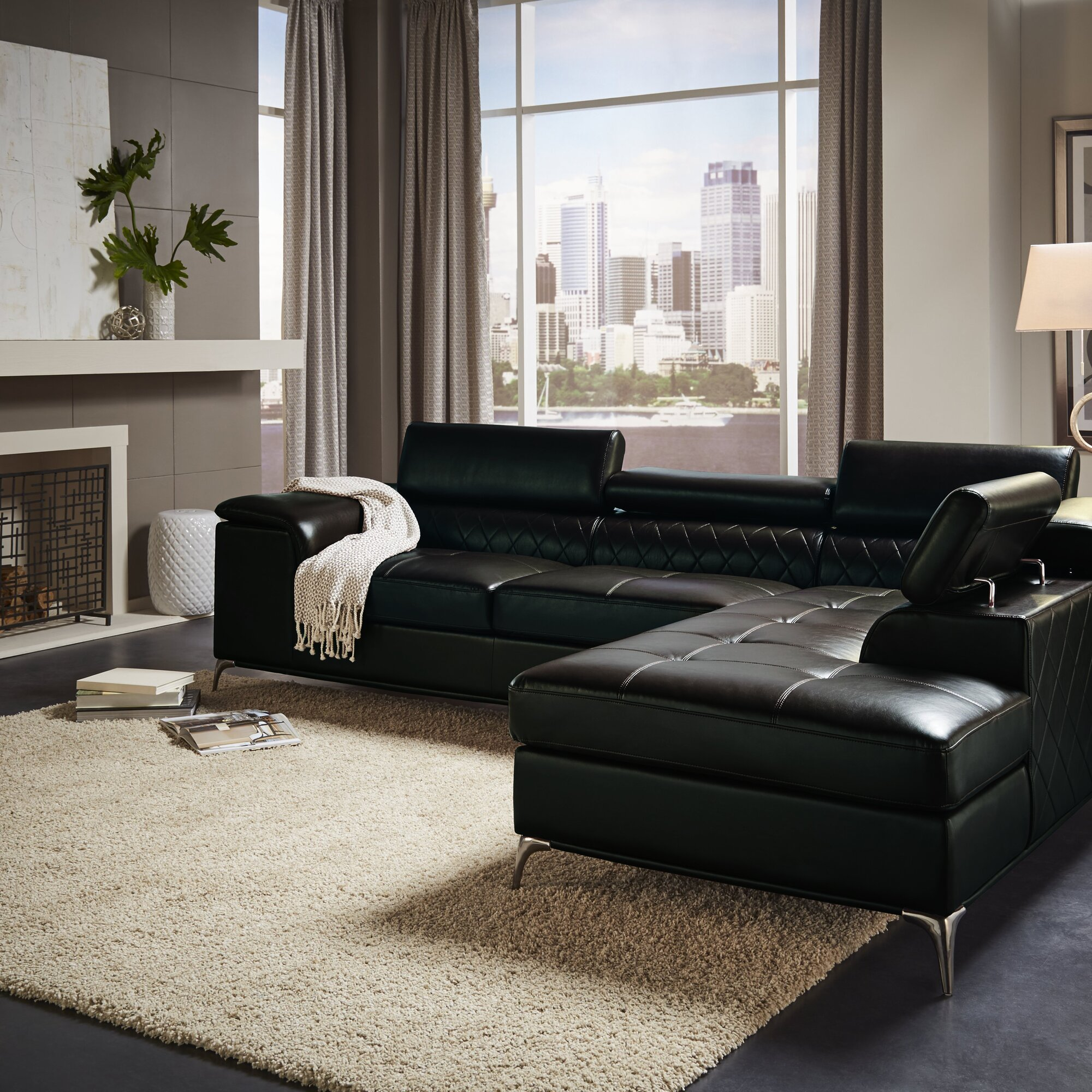 Wade Logan Mayson Sectional Living Room