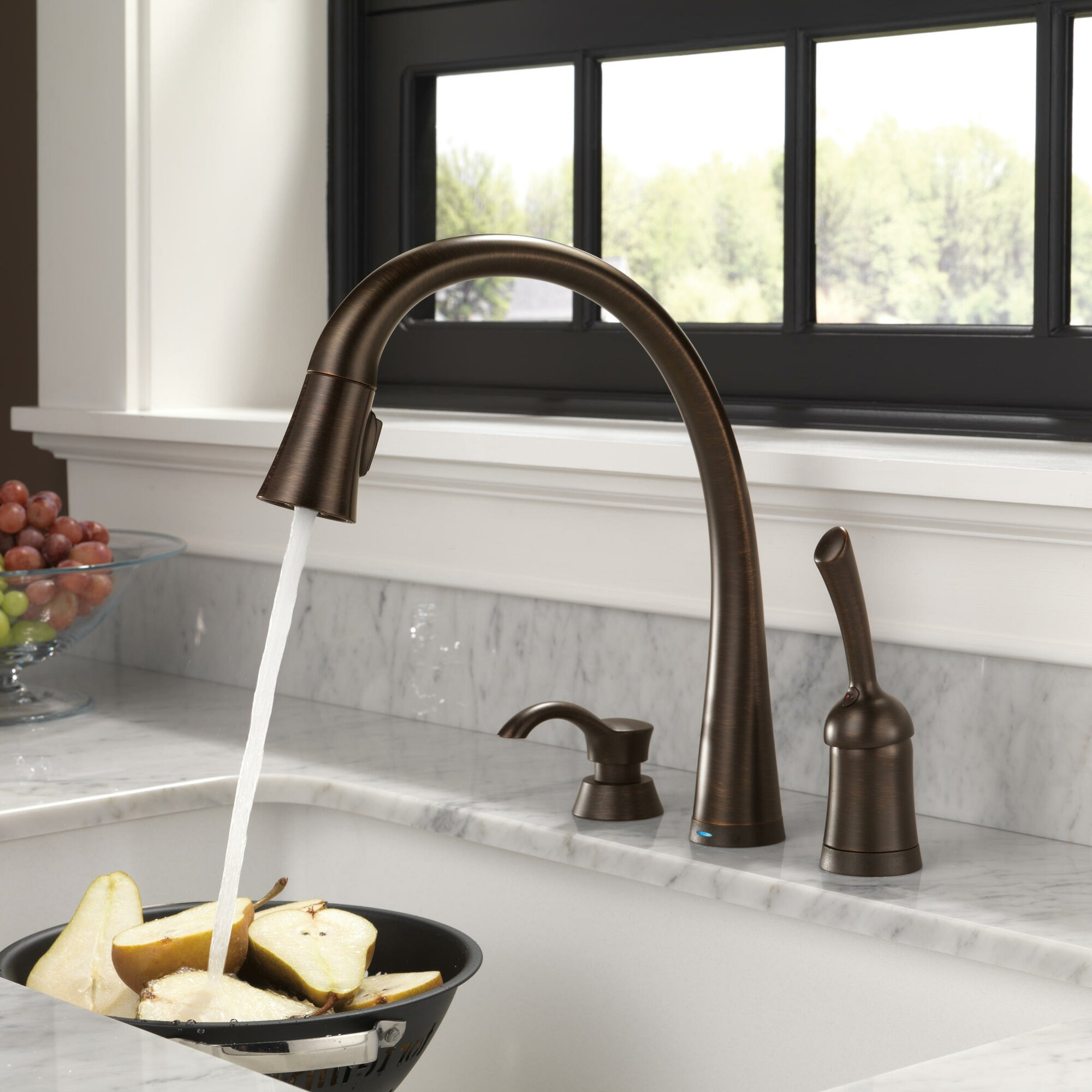 kitchen faucets with touch technology ierie com delta 9178t ar dst leland touch technology kitchen faucet