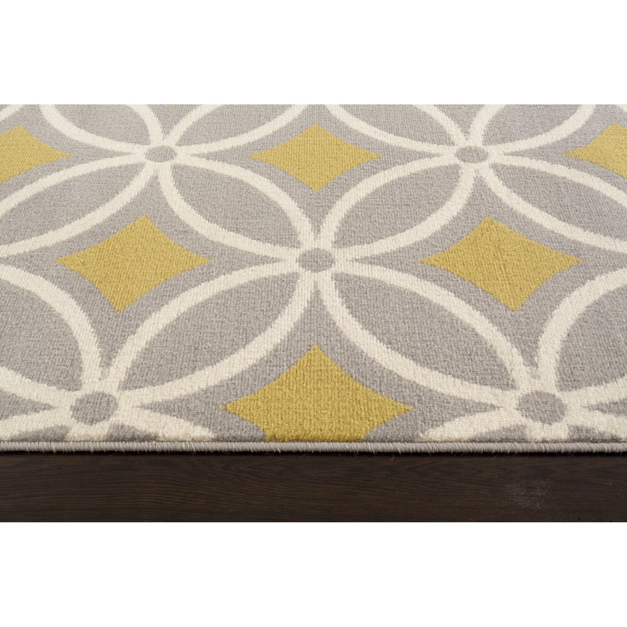 newport gray yellow area rug