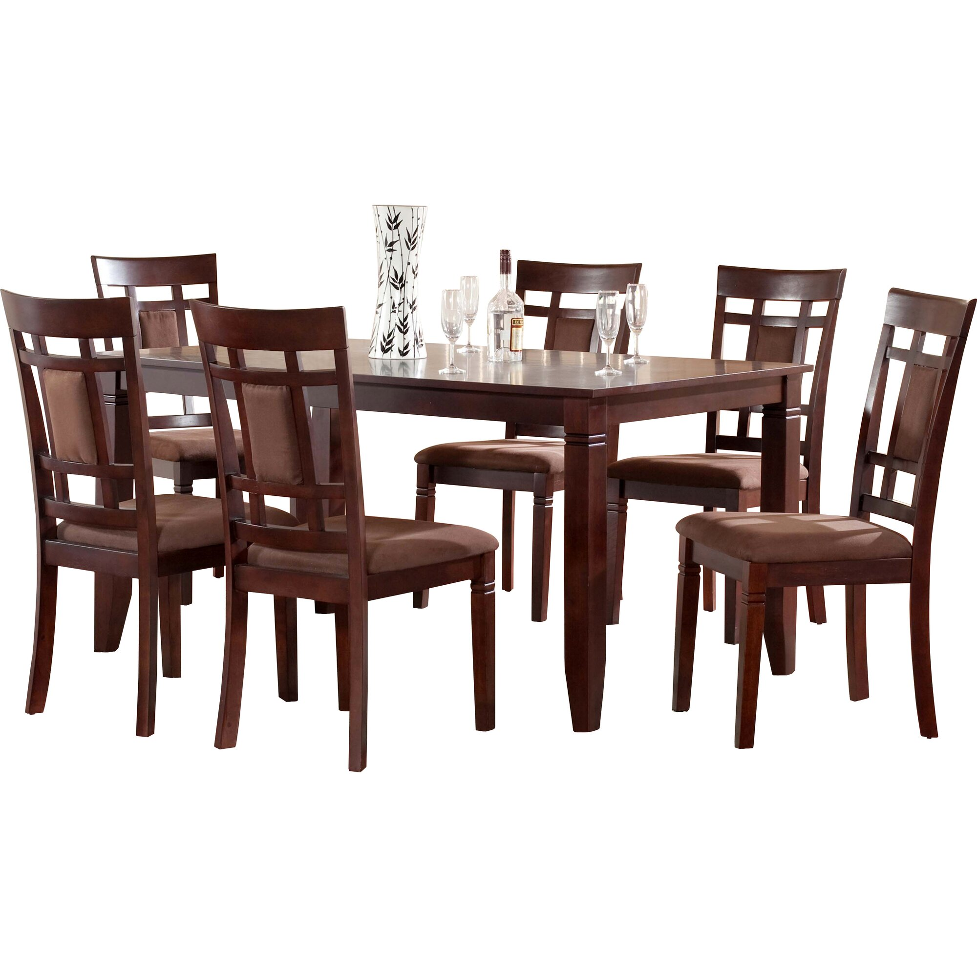 World menagerie ighli 7 piece dining set reviews for 7 piece dining set