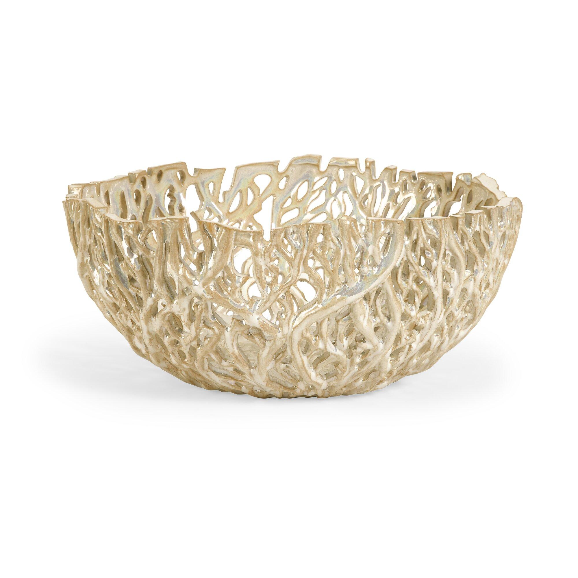 vargas cutwork decorative bowl - Decorative Bowl