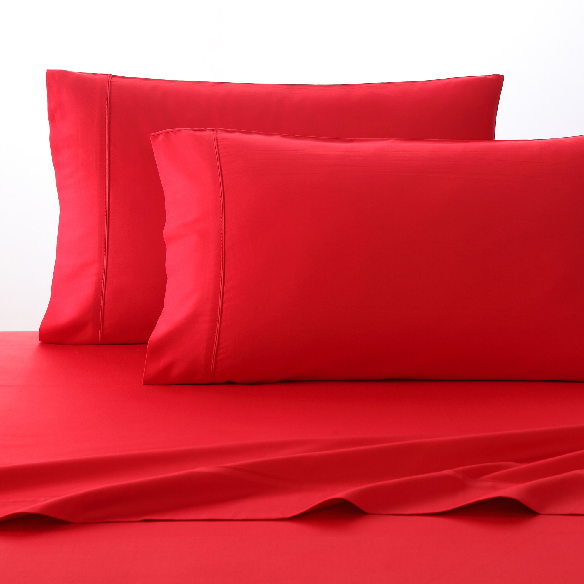 fiesta 300 thread count 100 cotton sheet set reviews wayfair. Black Bedroom Furniture Sets. Home Design Ideas