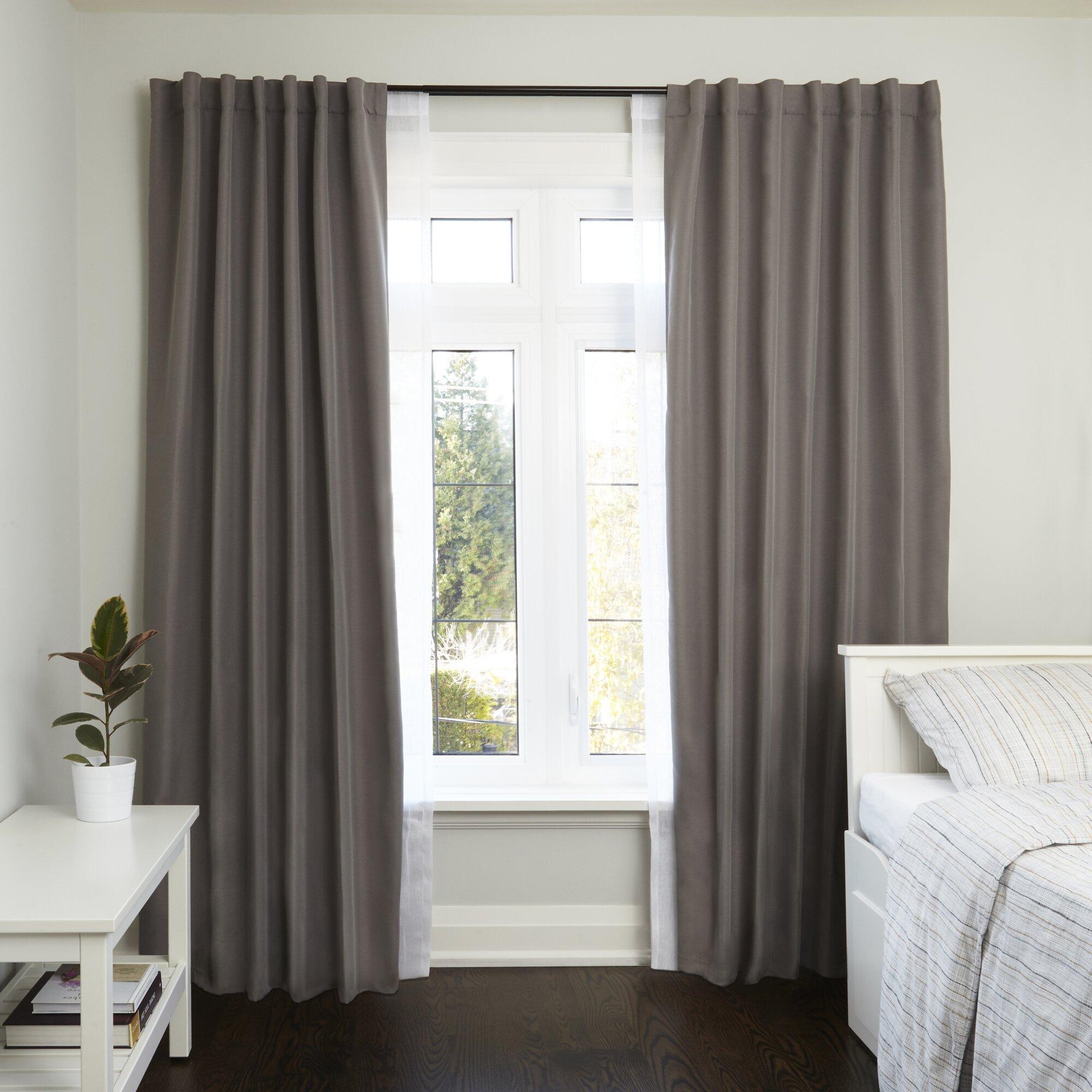 Room Darkening Window Curtain Rod Curtain Menzilperde Net