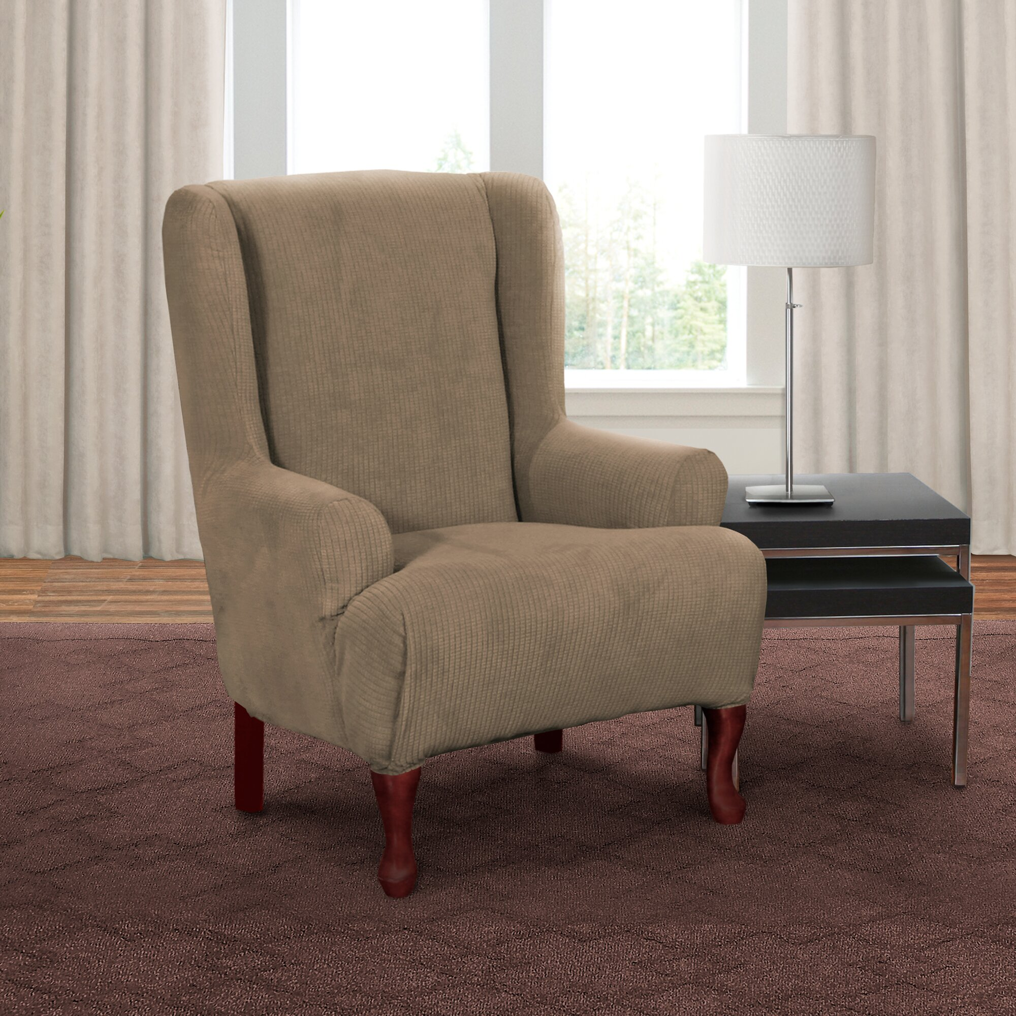 Red Barrel Studio Parson Chair T Cushion Slipcover