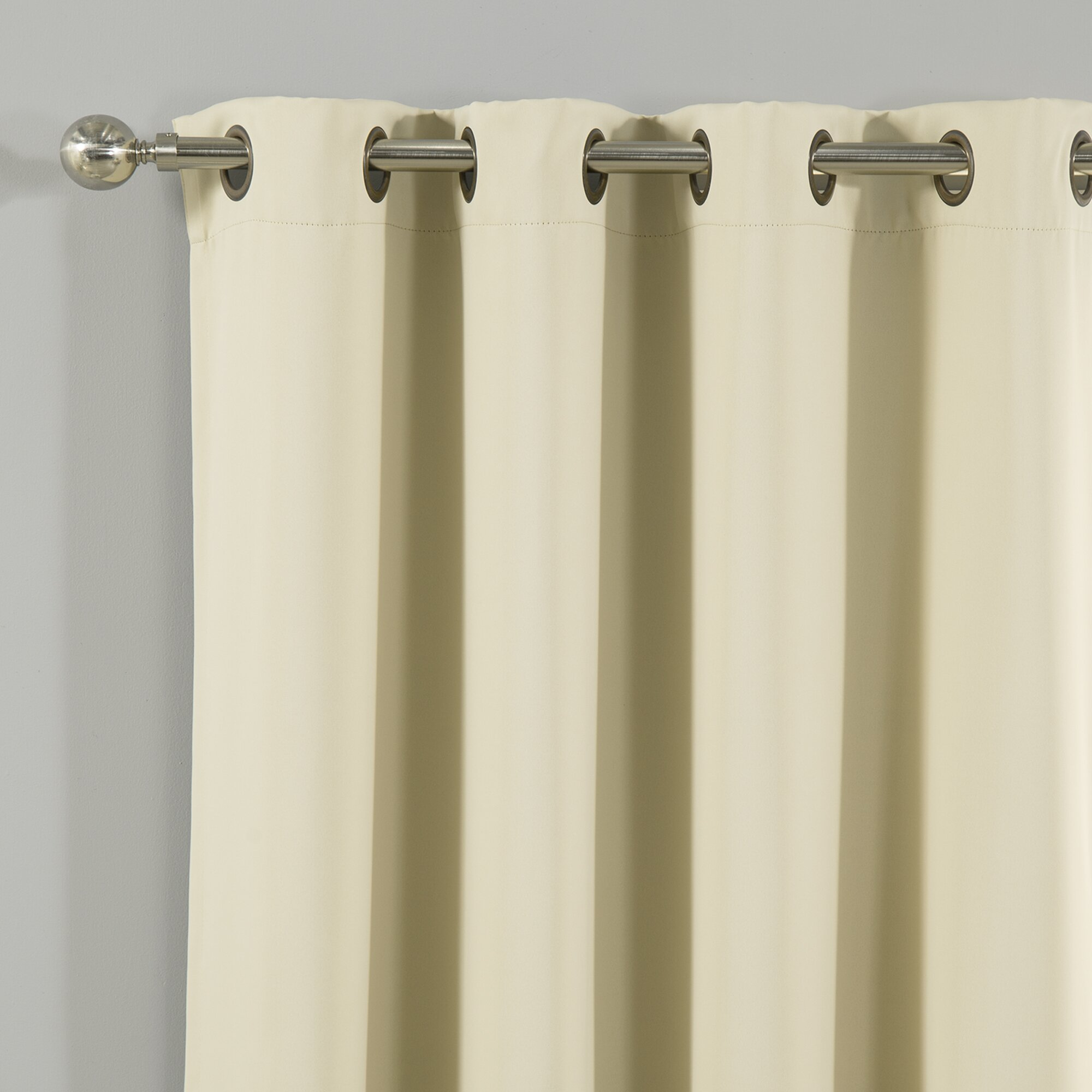 Solid Blackout Thermal Grommet Curtain Panels Reviews Birch Lane