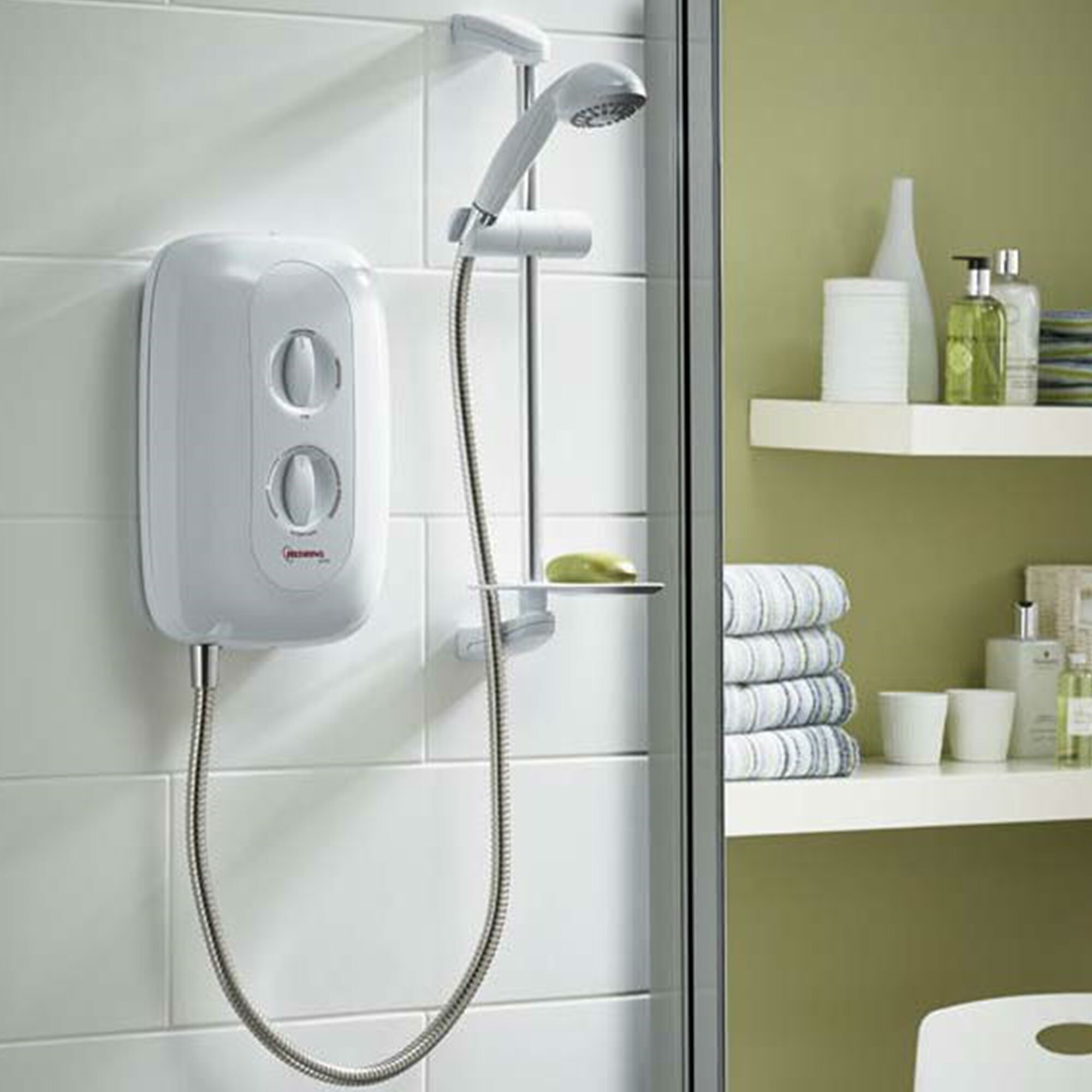 active 85kw electric shower