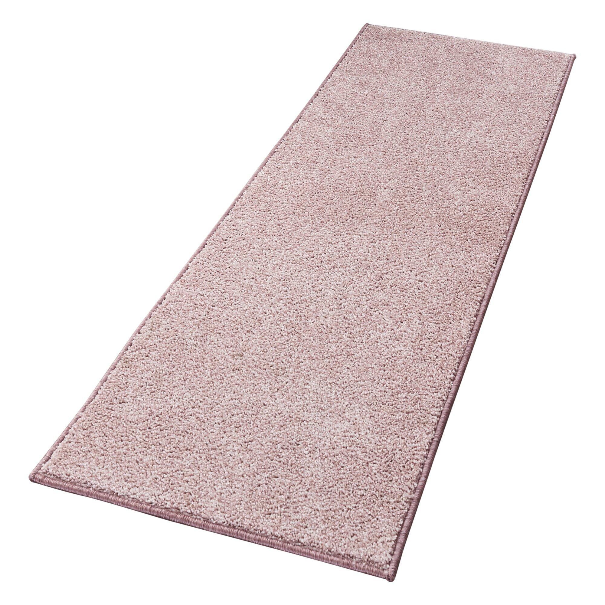 hanse home teppich pure in rosa. Black Bedroom Furniture Sets. Home Design Ideas