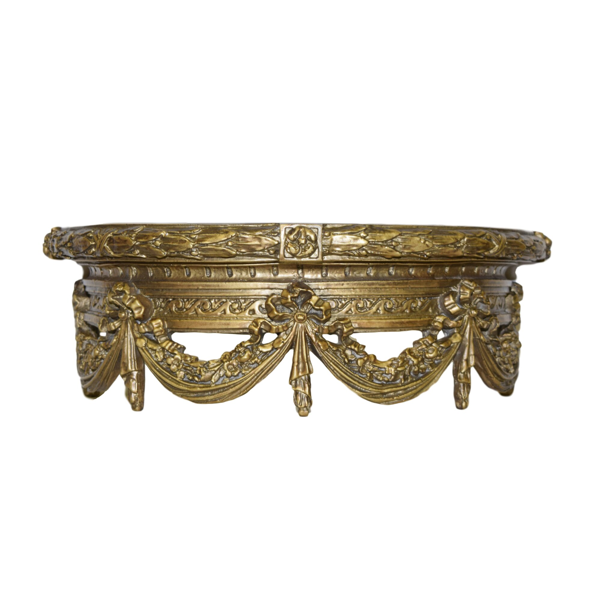 Hickory Manor House Bed Crown