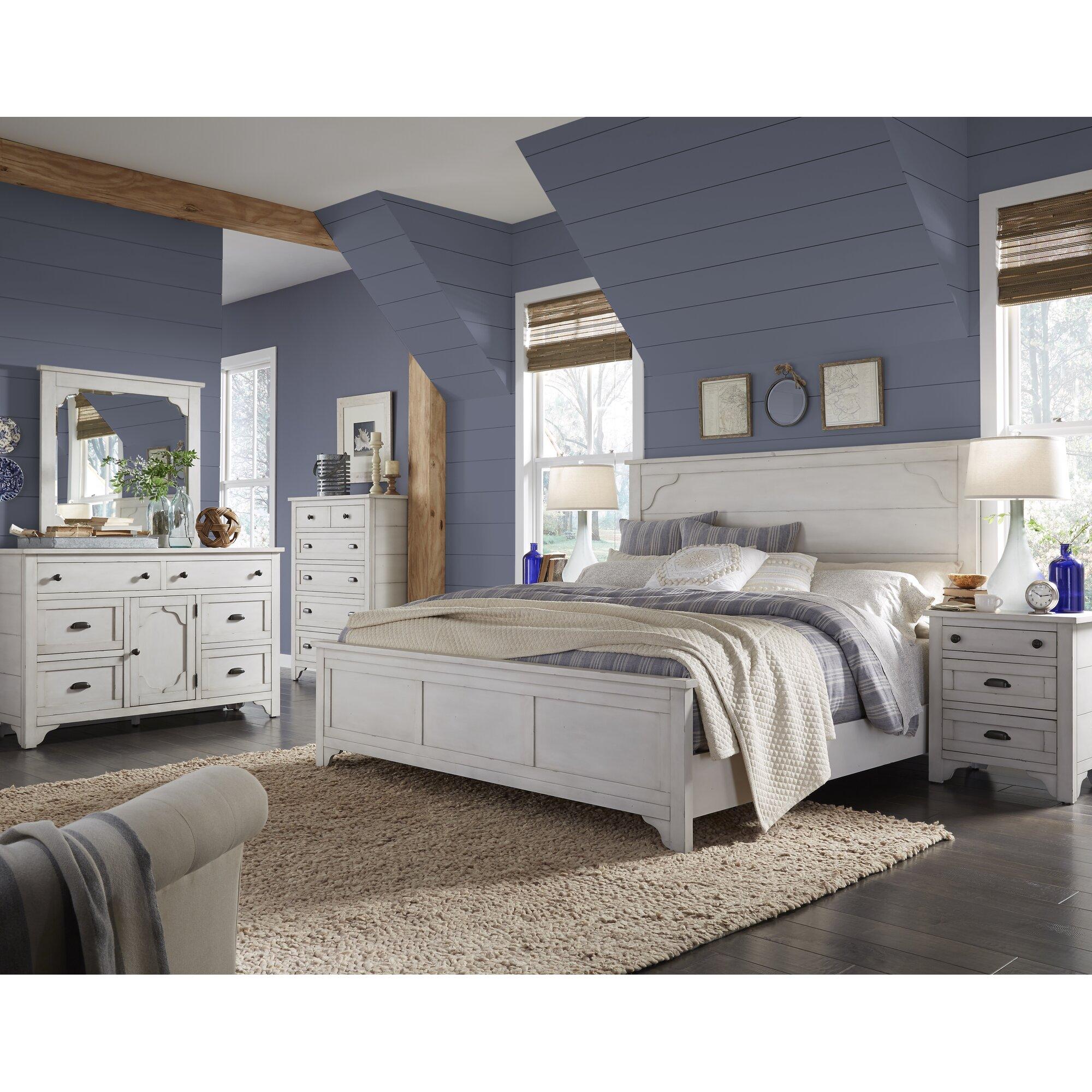 Laurel Foundry Modern Farmhouse Aurora Panel Customizable Bedroom ...