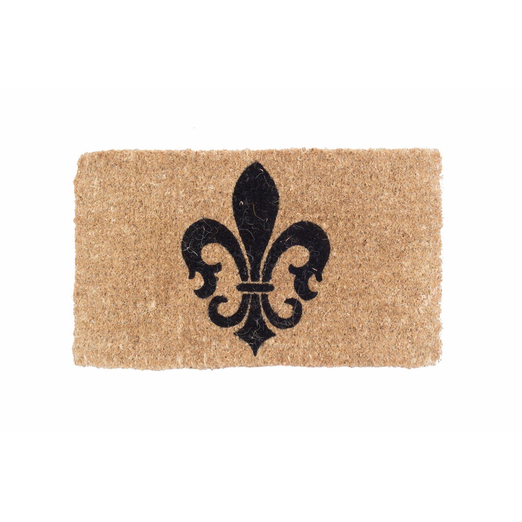 Coco Mats N More Fleur De Lis Symbol Doormat Reviews