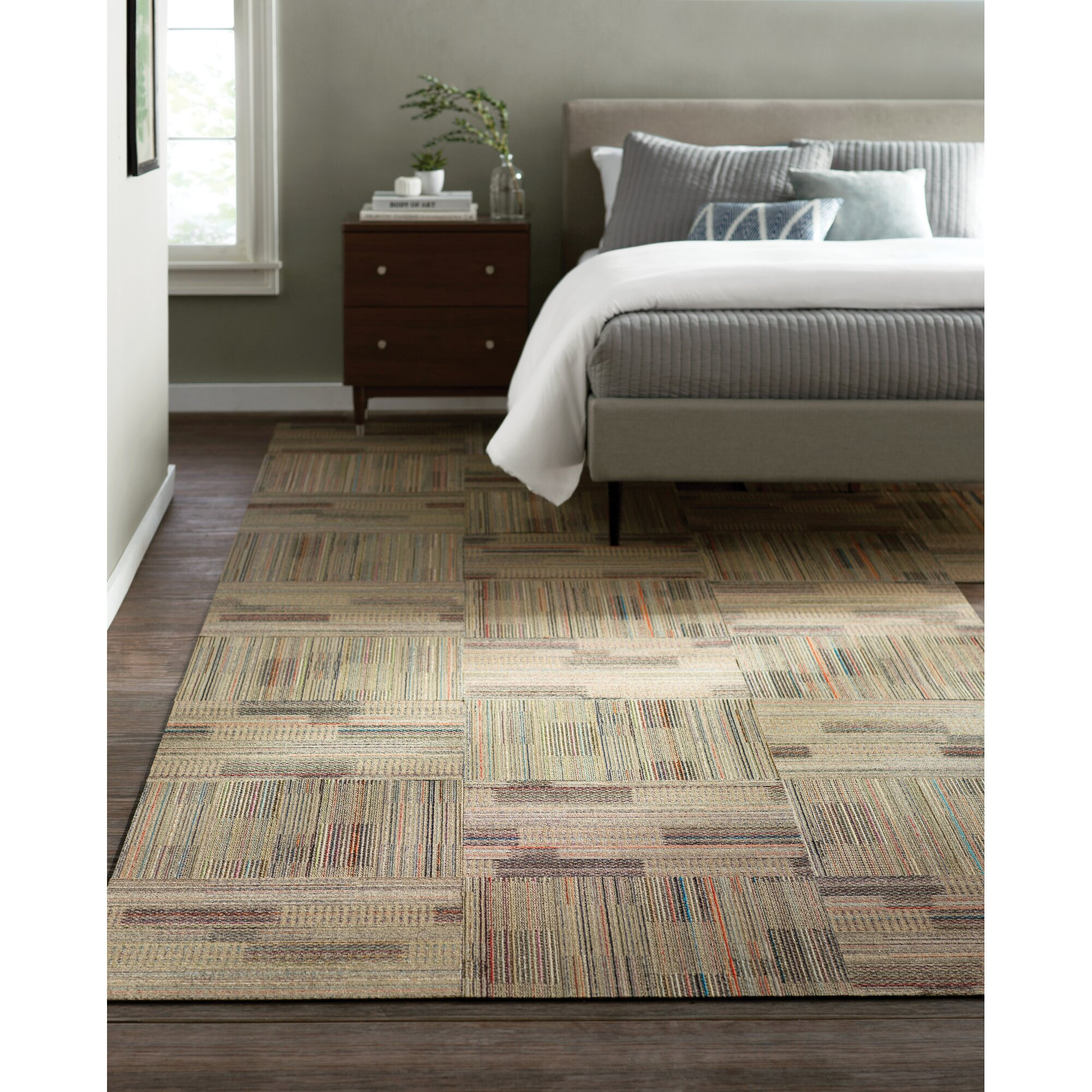 "Madras Flooring: Mohawk Epsom 24"" X 24"" Carpet Tile In Madras & Reviews"