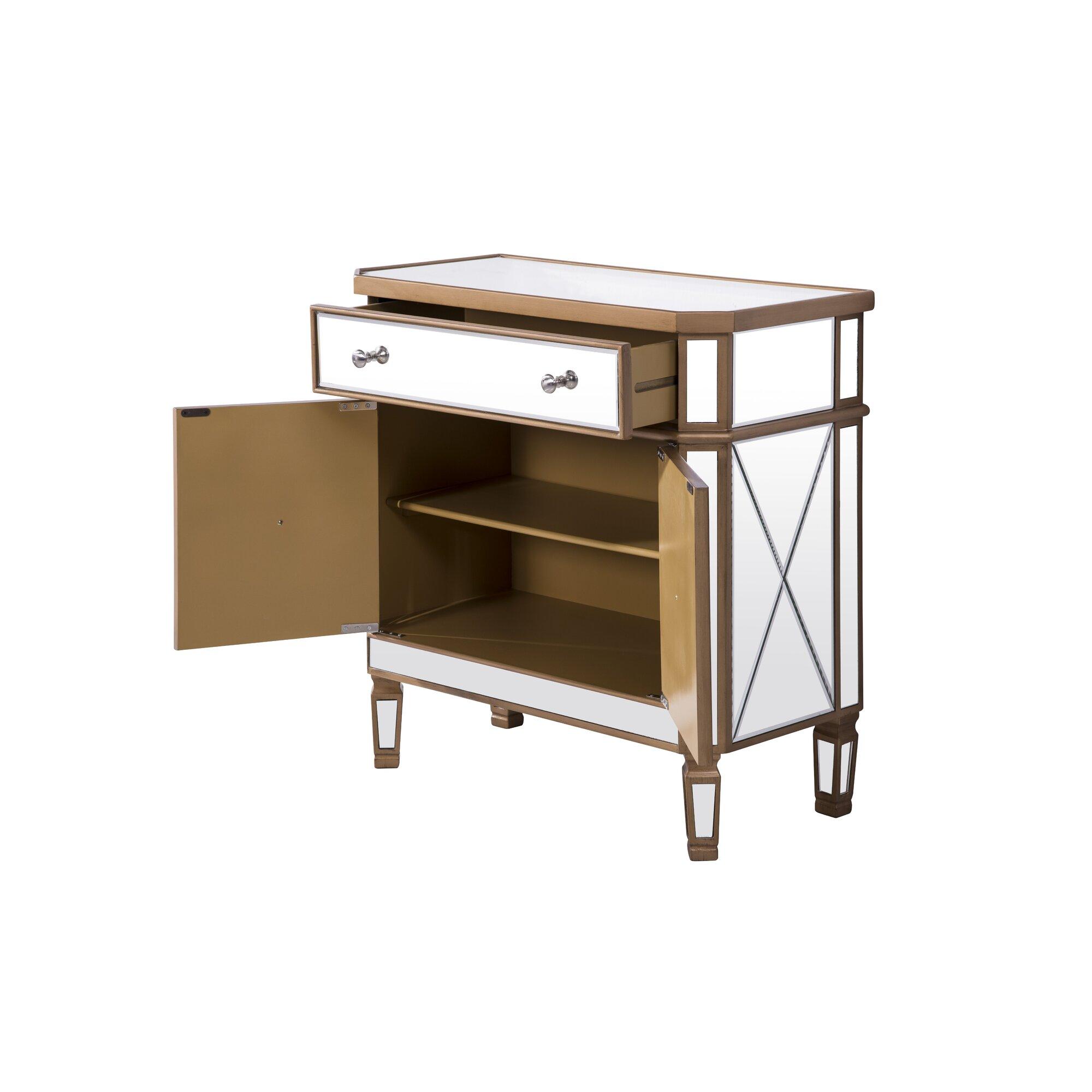 Elegant lighting contempo 1 drawer 2 door accent cabinet for 1 drawer 2 door cabinet