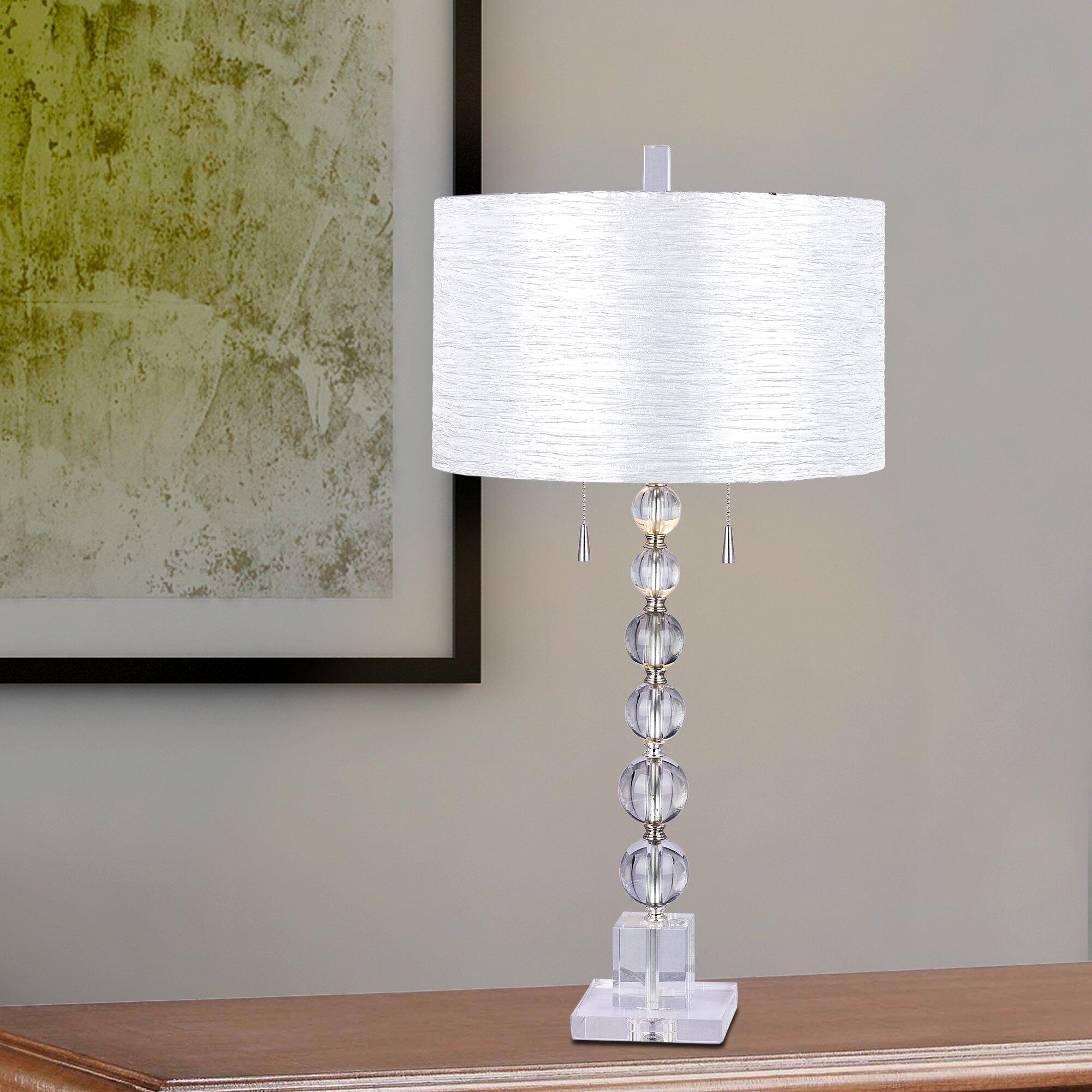 Stacked crystal ball table lamp gallery coffee table design ideas crystal ball table lamps instalamps crystal ball table lamps geotapseo gallery geotapseo Choice Image