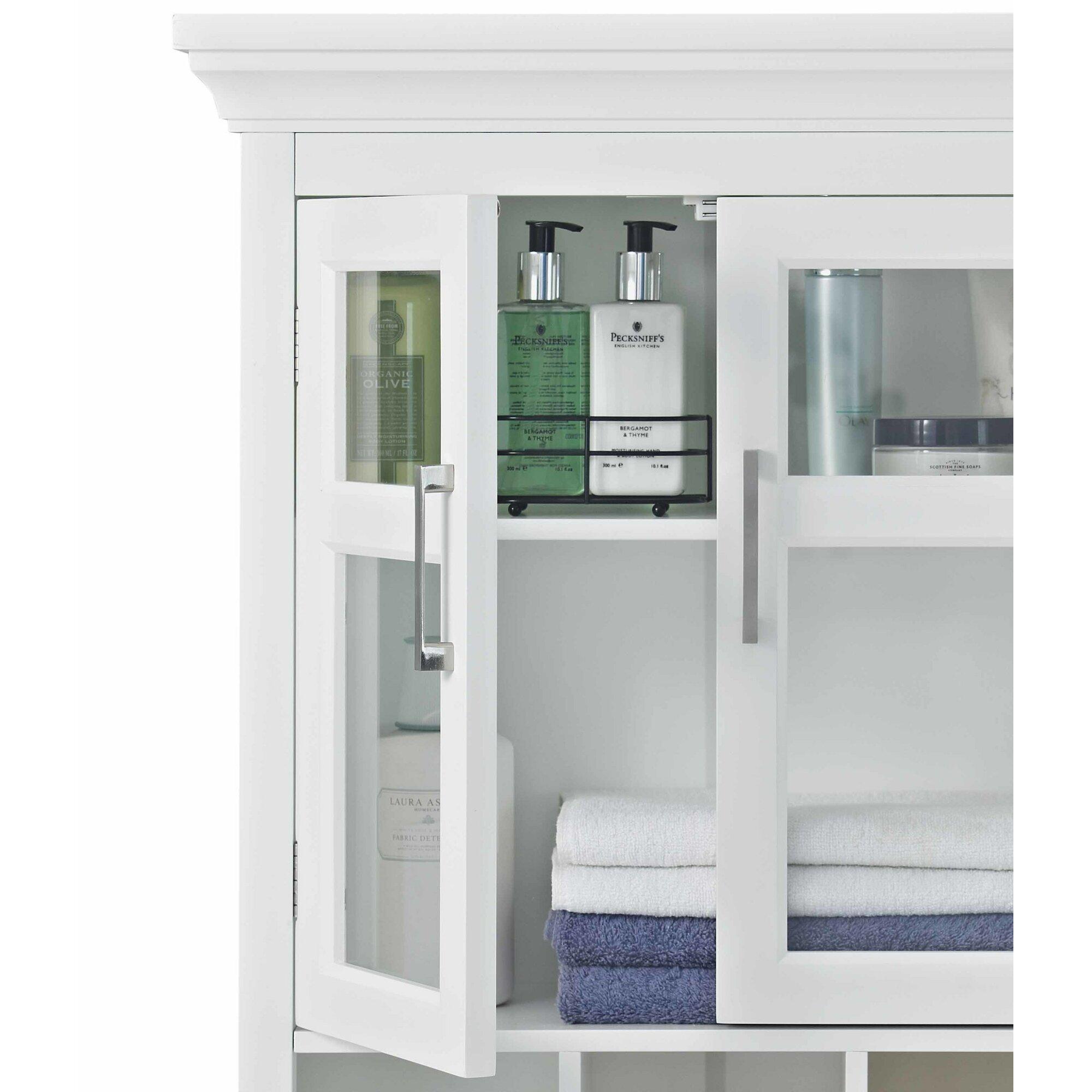 Bathroom storage wall cabinets - Avington 23 63 W X 30 13 H Wall Mounted Cabinet