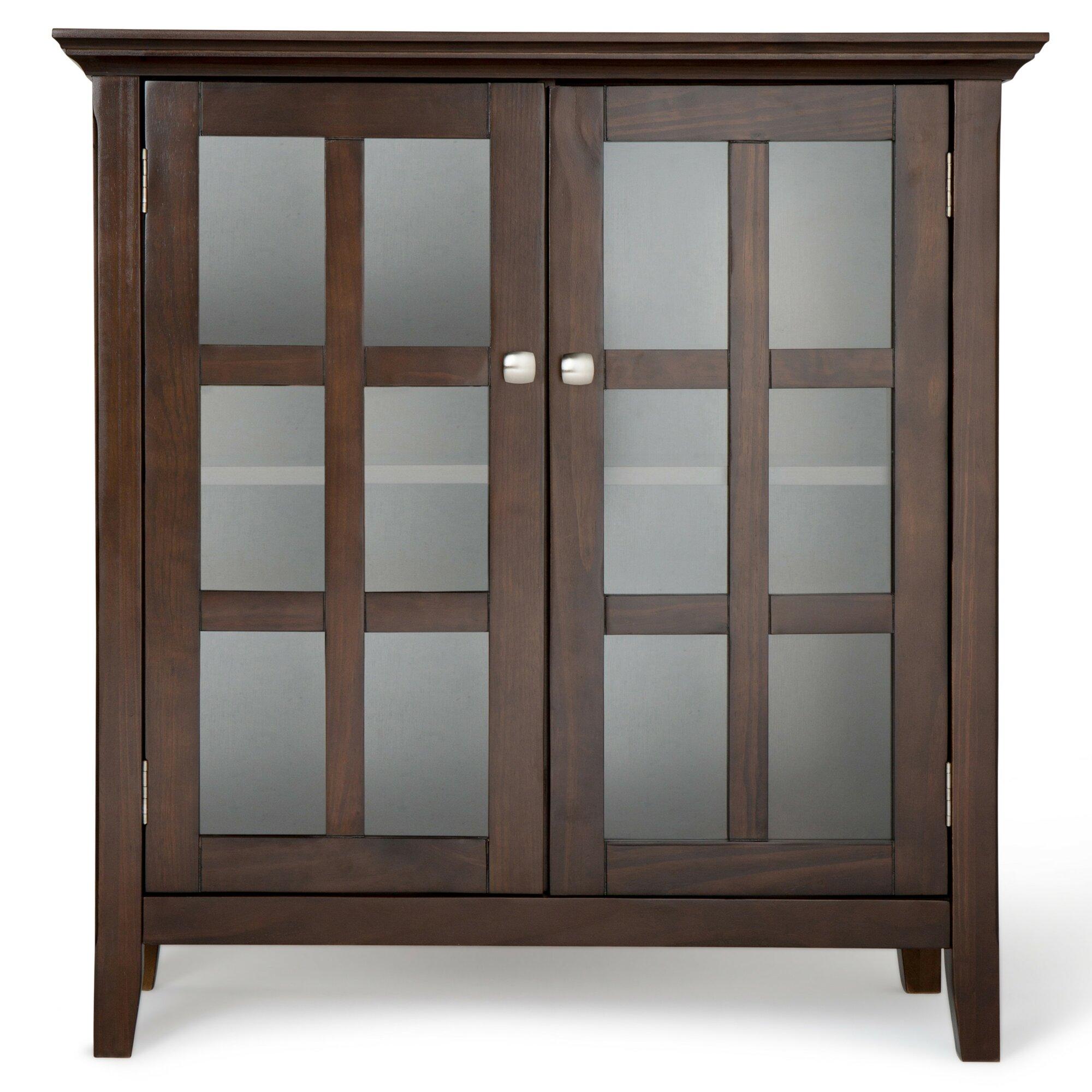 Acadian 2 Door Storage Cabinet Reviews Birch Lane