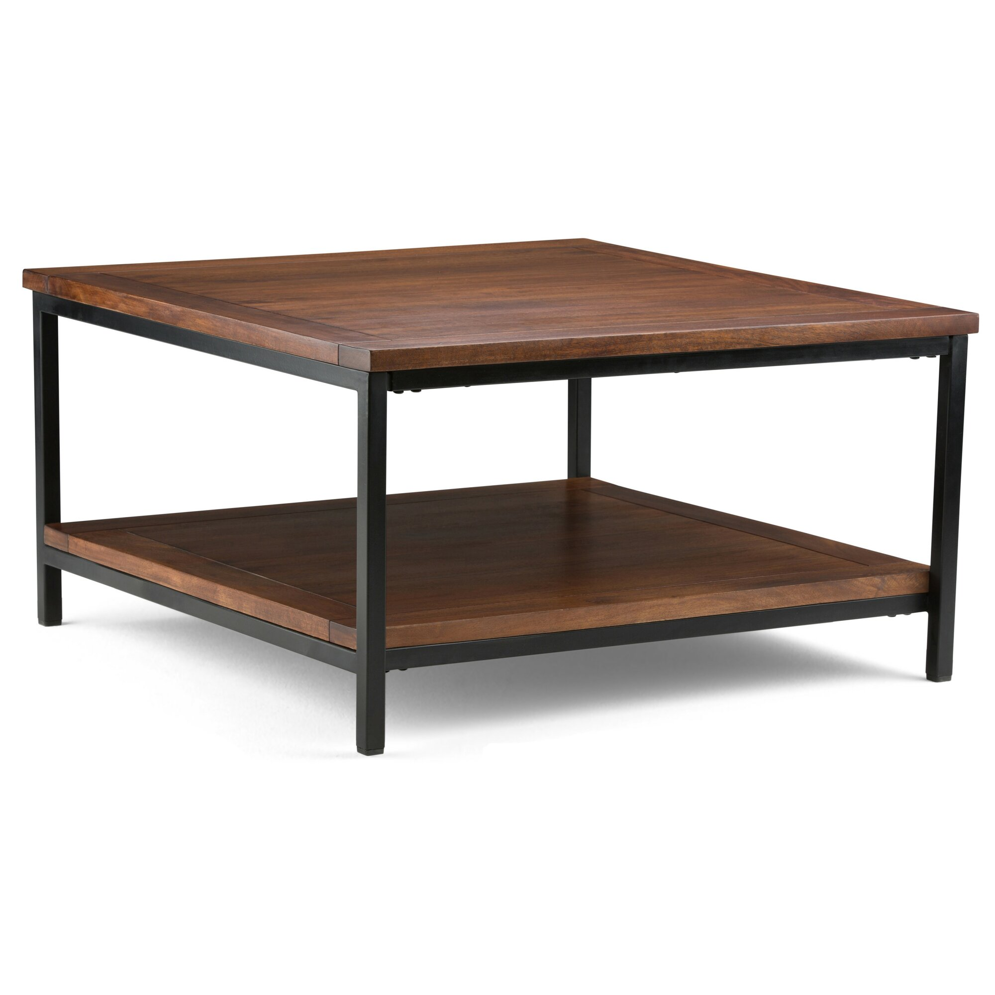Simpli home skyler 34 square coffee table wayfair for Regulation 85 table a