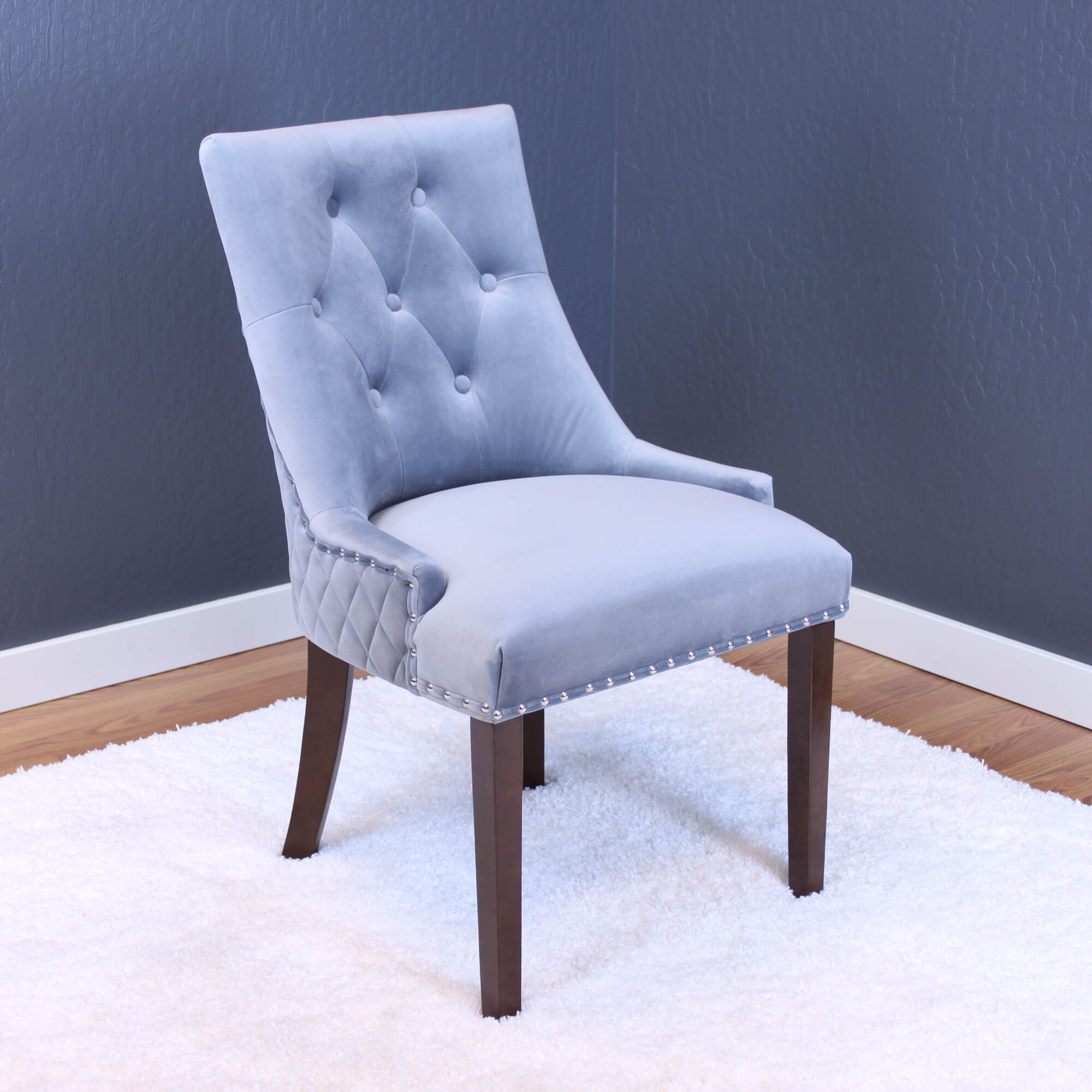 Blue Parsons Chair