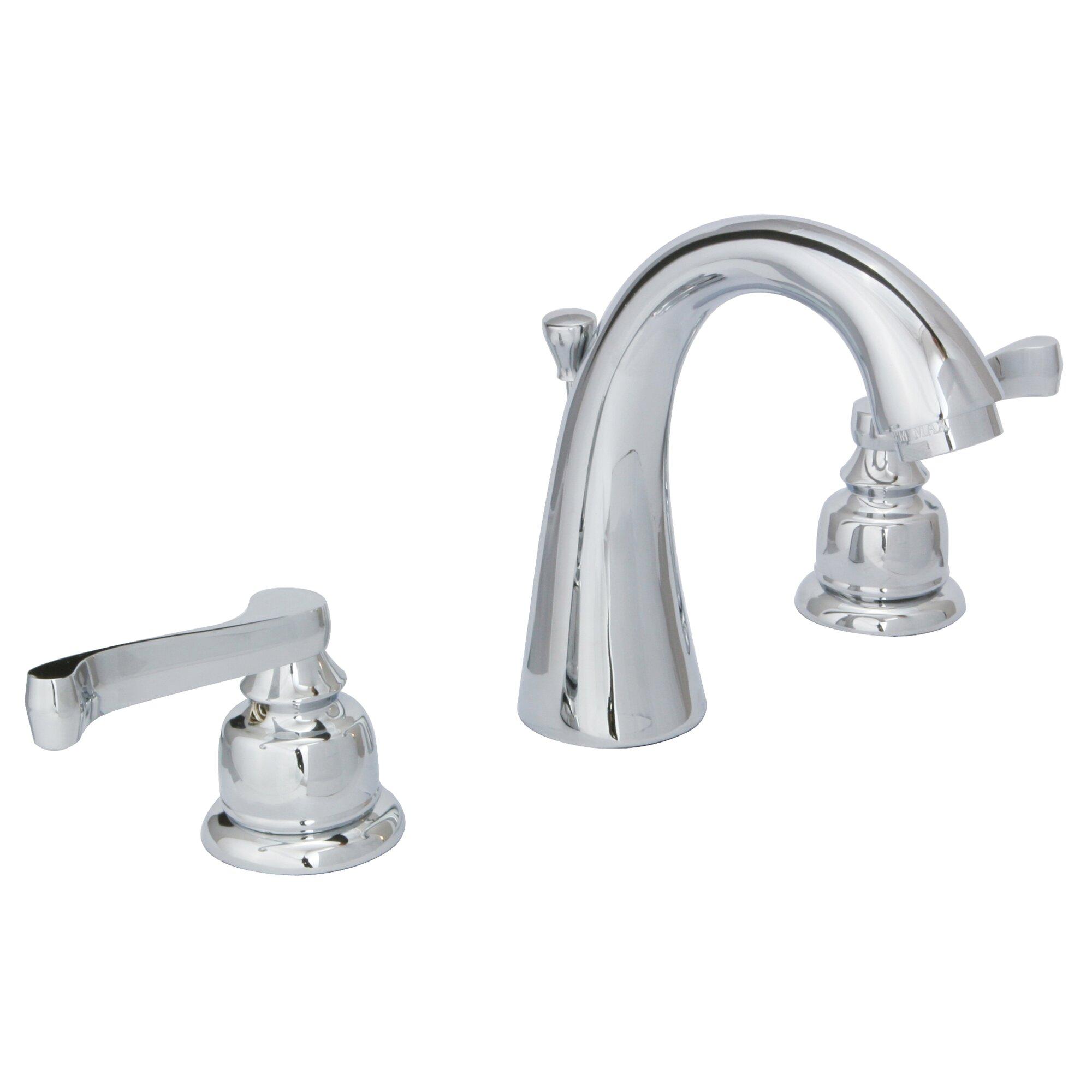 Cross Handle Bathroom Faucet Huntingtonbrass Sienna Widespread Lever Handle Bathroom Faucet
