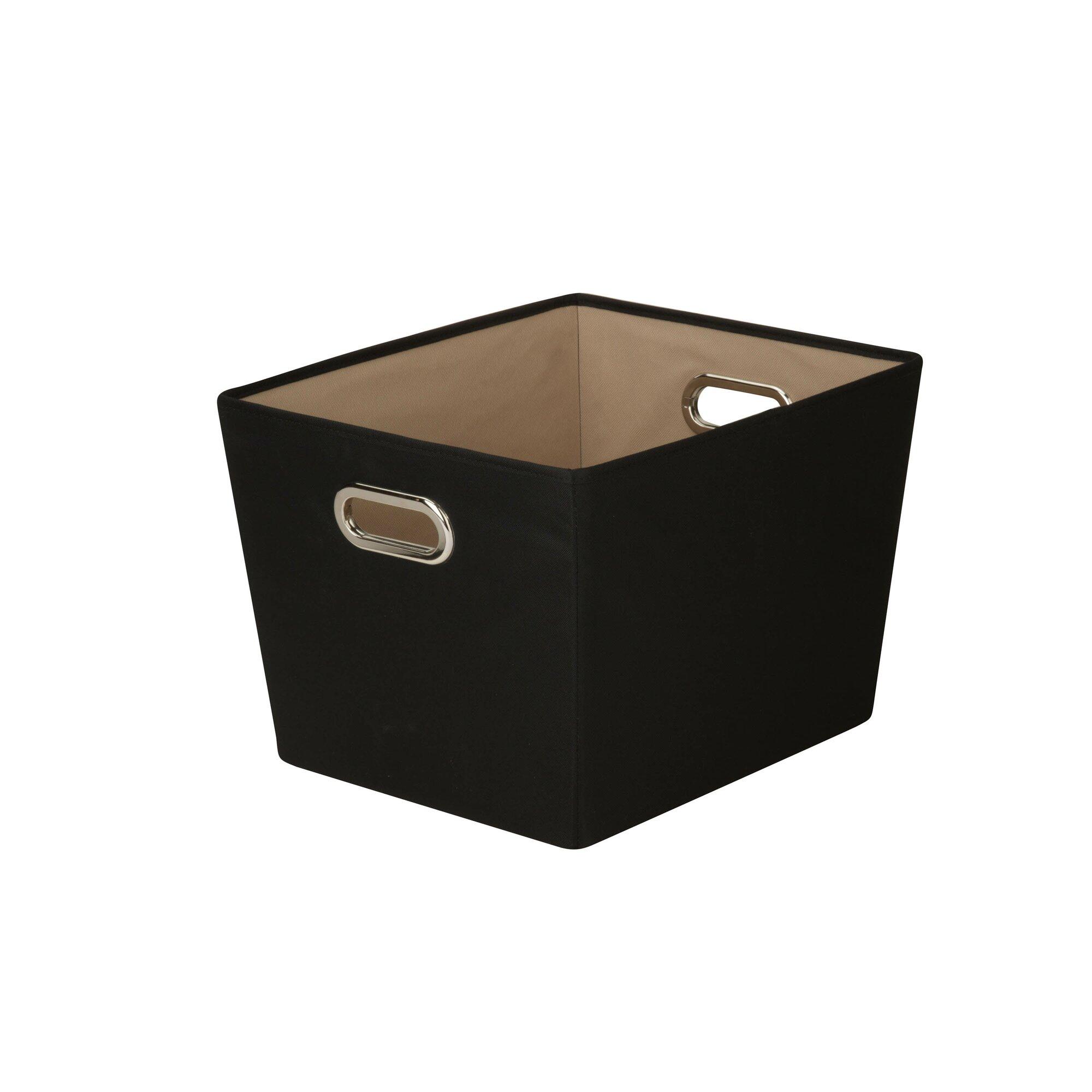 decorative storage bin with handle - Decorative Storage Baskets