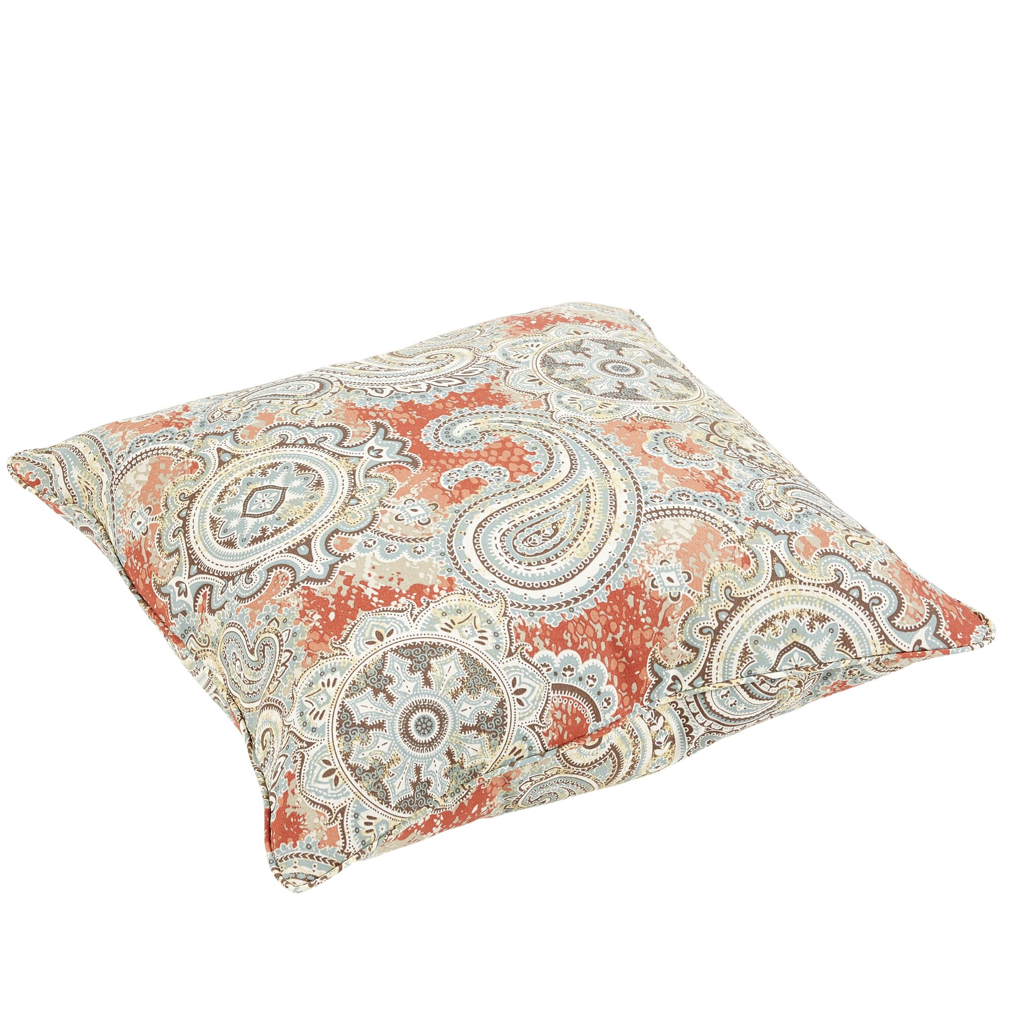 Darby Home Co Aravale Paisley Indoor/Outdoor Floor Pillow Wayfair.ca