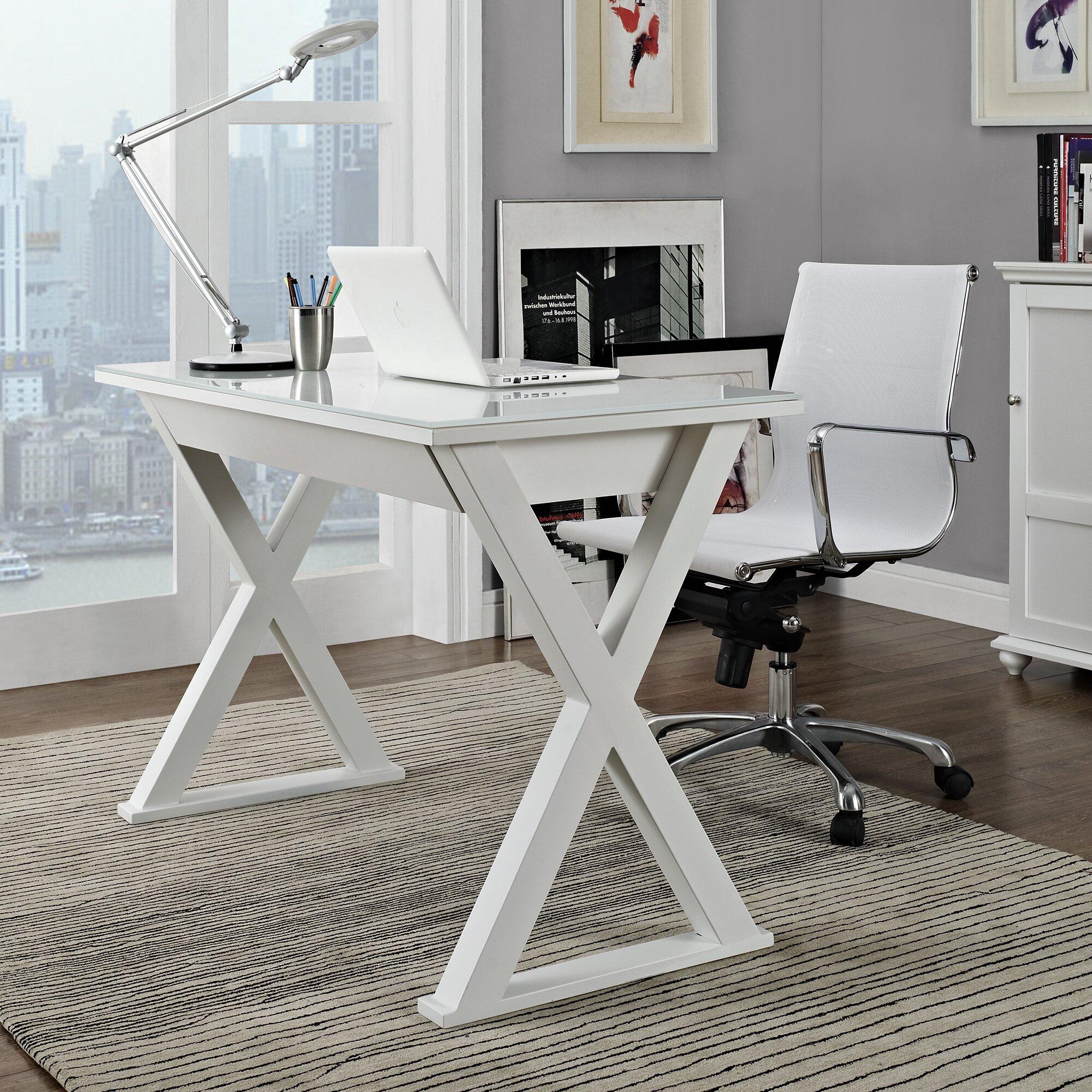 Latitude Run Montclair Executive Writing Desk Amp Reviews
