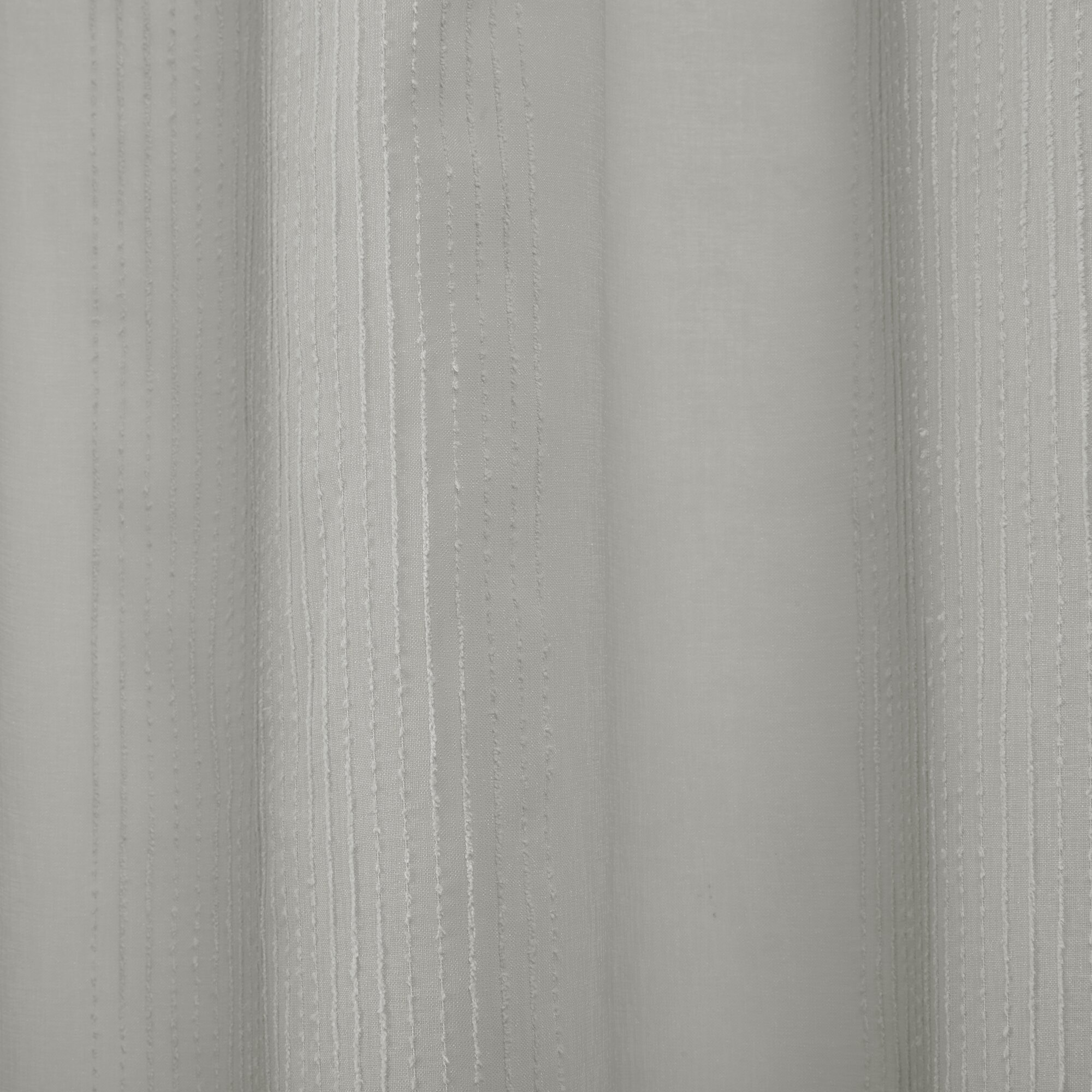 Ospina Shower Curtain  Reviews Birch Lane - White linen shower curtain