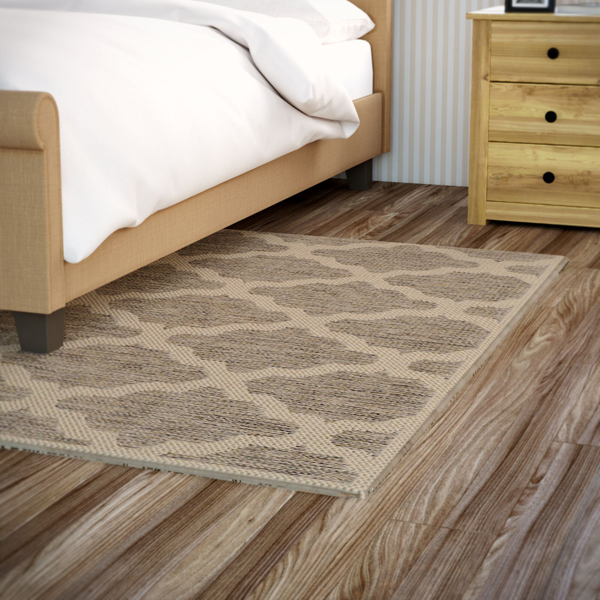 Andover mills guilford grey beige rug reviews wayfair for Grey and tan rug