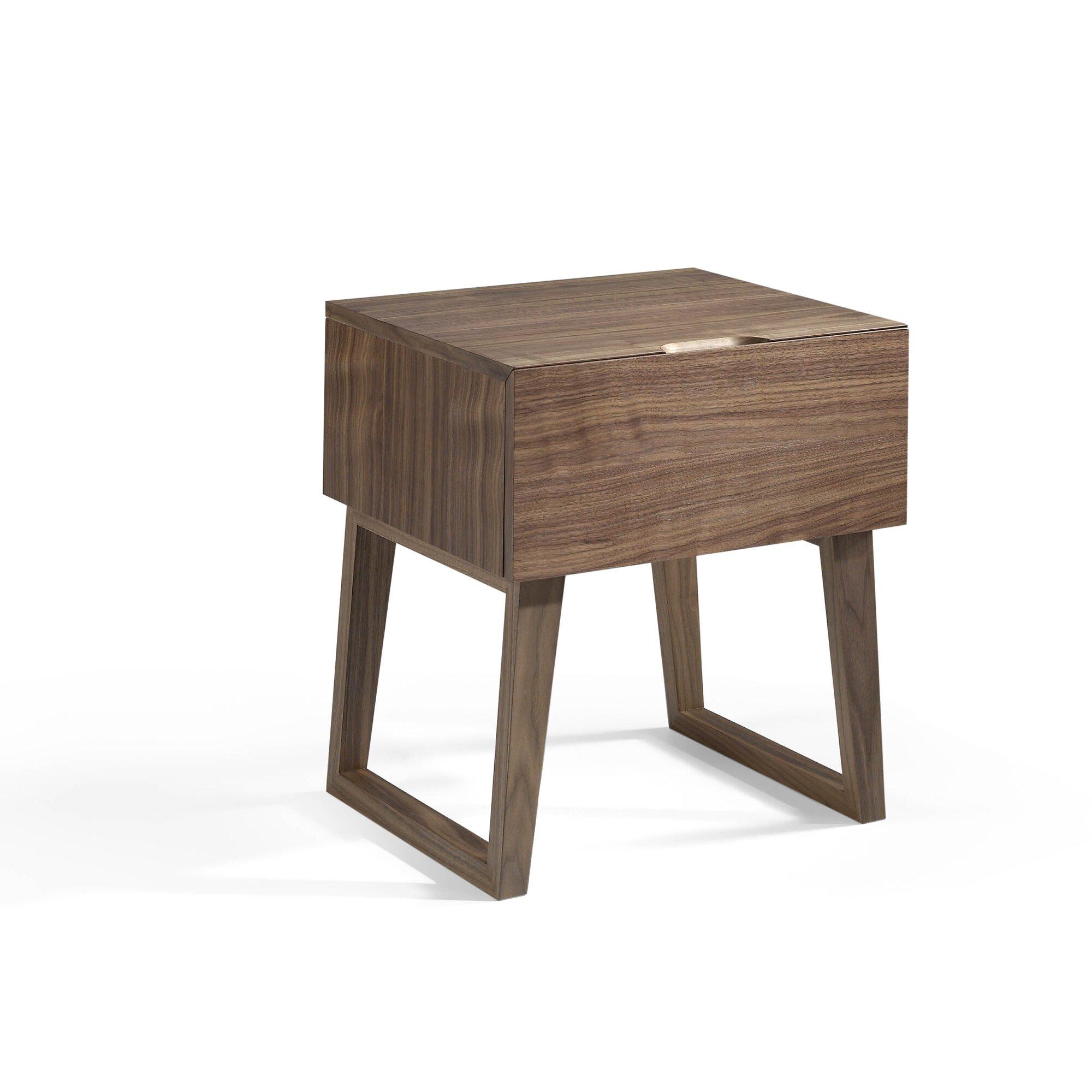 angel cerda nachttisch mit 1 schublade. Black Bedroom Furniture Sets. Home Design Ideas