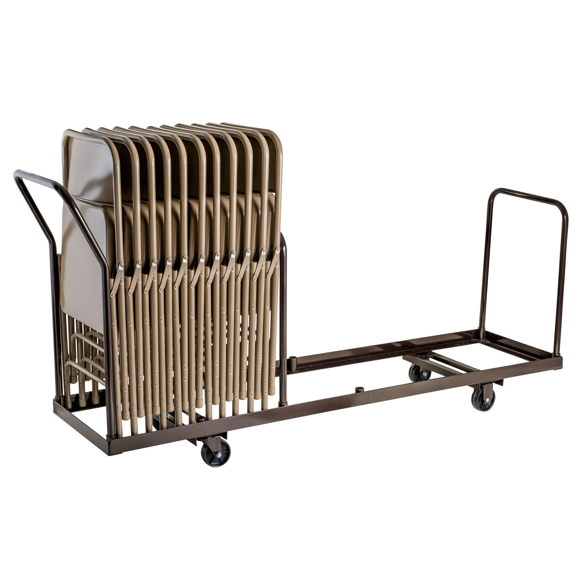 National Public Seating Folding Chair Dolly & Reviews
