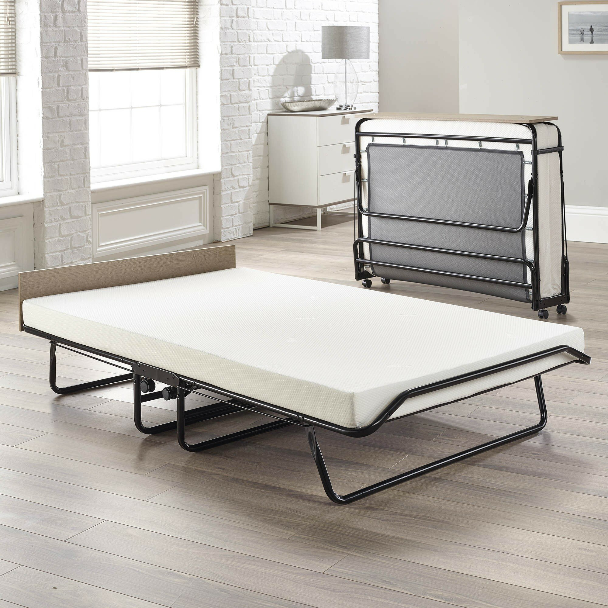 Jay Be Supreme Double Guest Bed With Memory Foam Mattress
