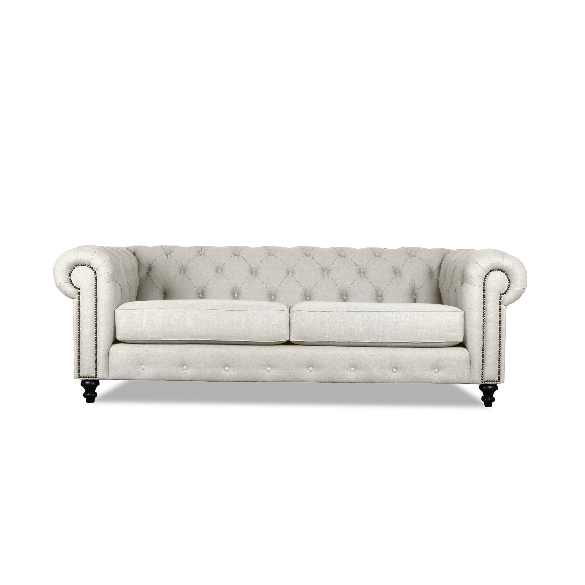 Chesterfield White Sofa Instasofa