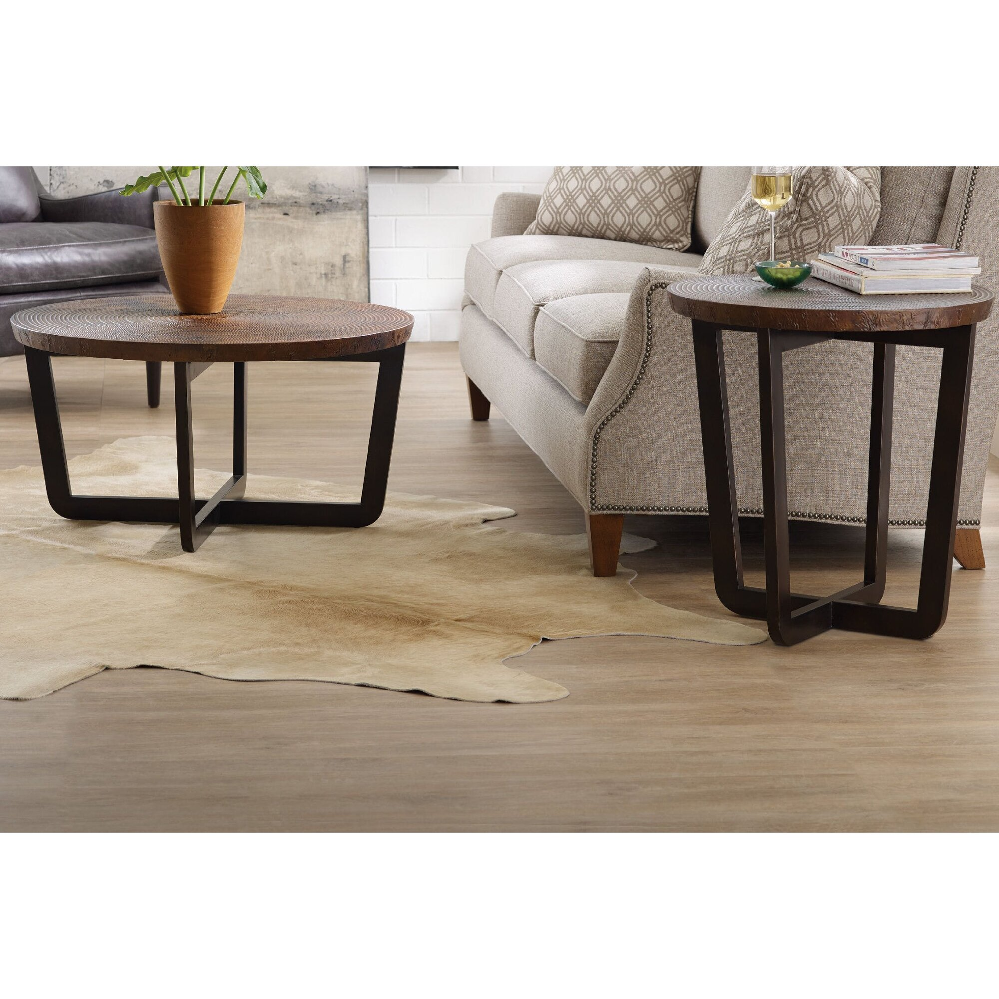 Hooker Furniture Parkcrest 2 Piece Coffee Table Set