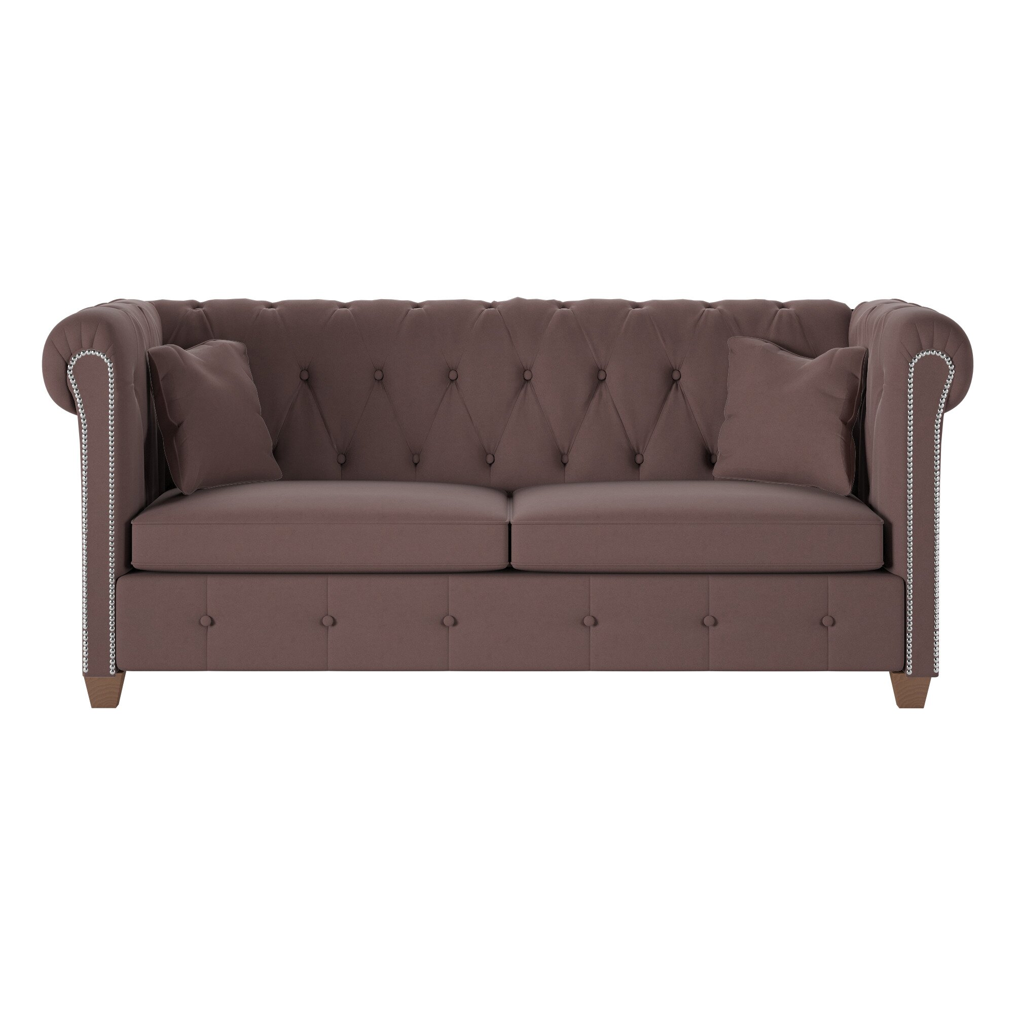Wayfair Custom Upholstery u2122 Josephine Tufted Chesterfield Sofa& Reviews Wayfair