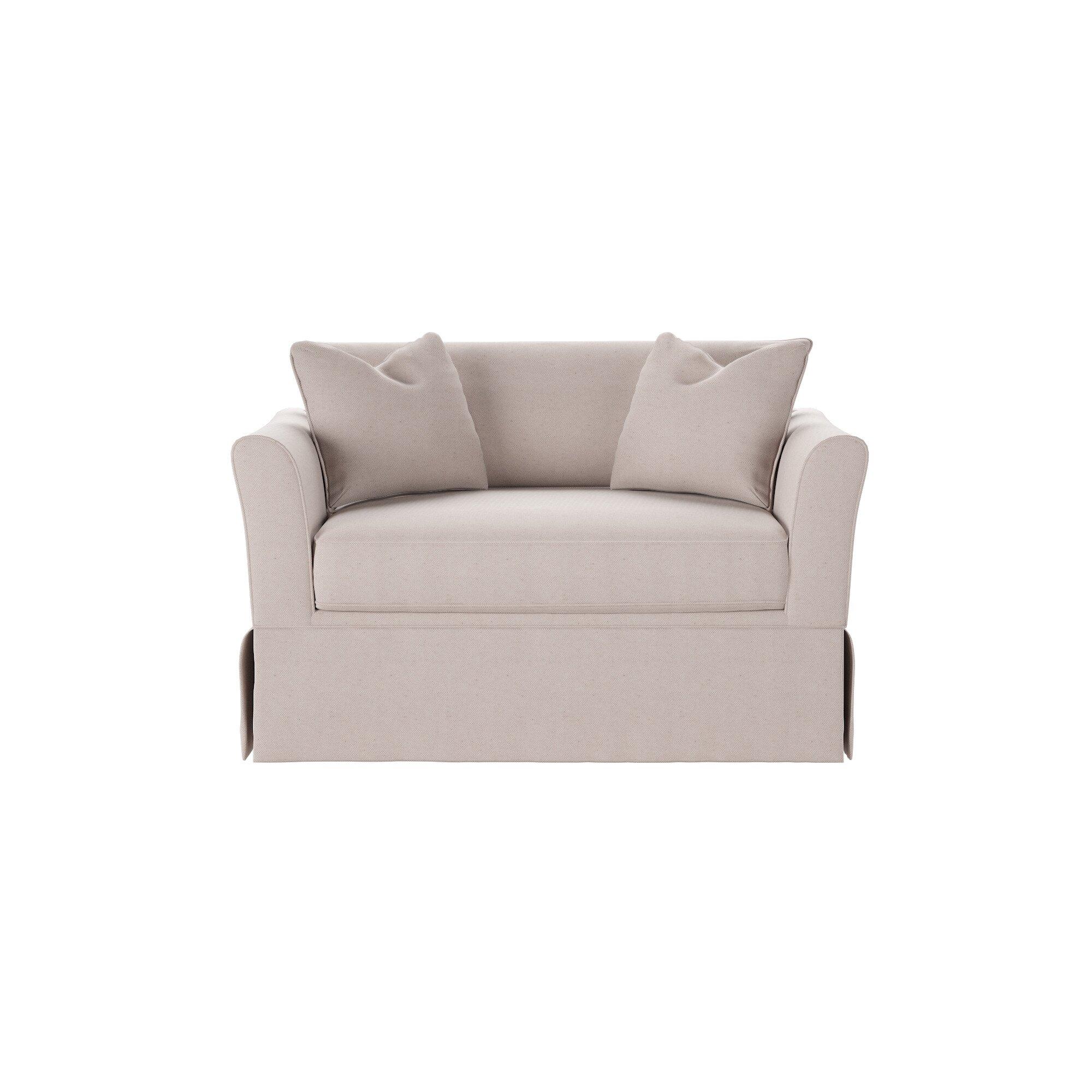 Wayfair Custom Upholstery Shelby Chair And A Half