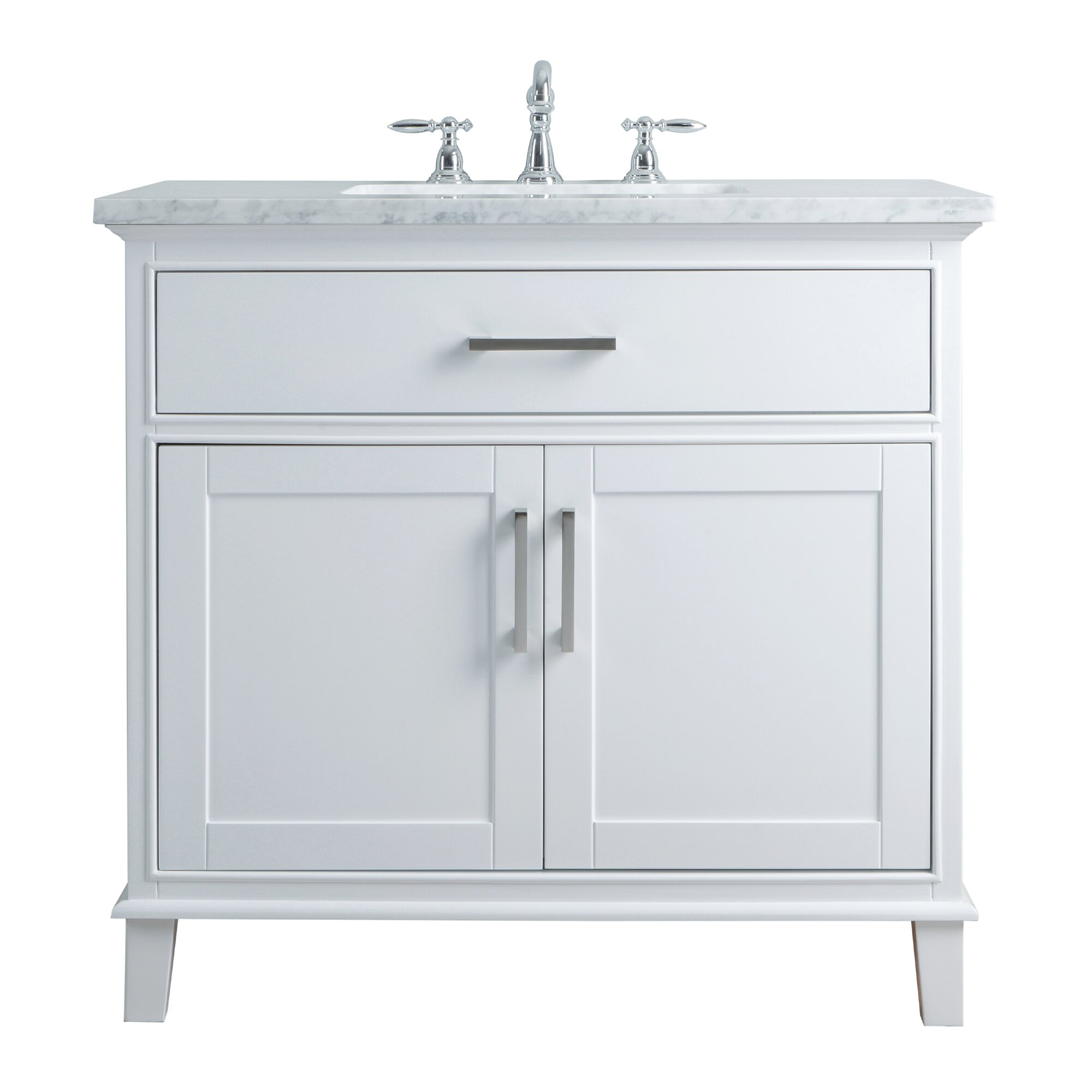 Dcor Design Leigh 36 Single Bathroom Vanity Set