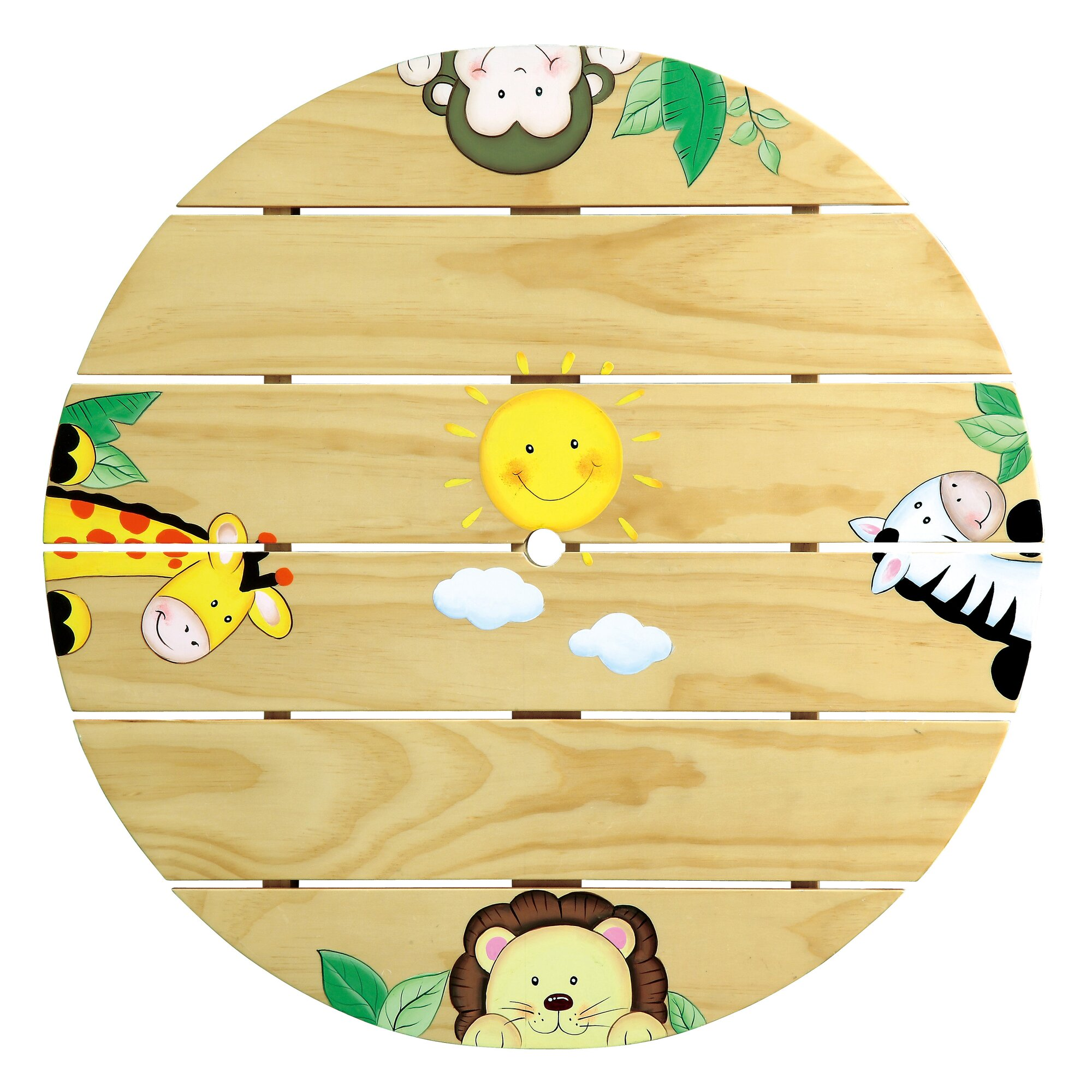 Fantasy Fields Kids  Piece Round Table And Chair Set  Reviews - Round table clip art