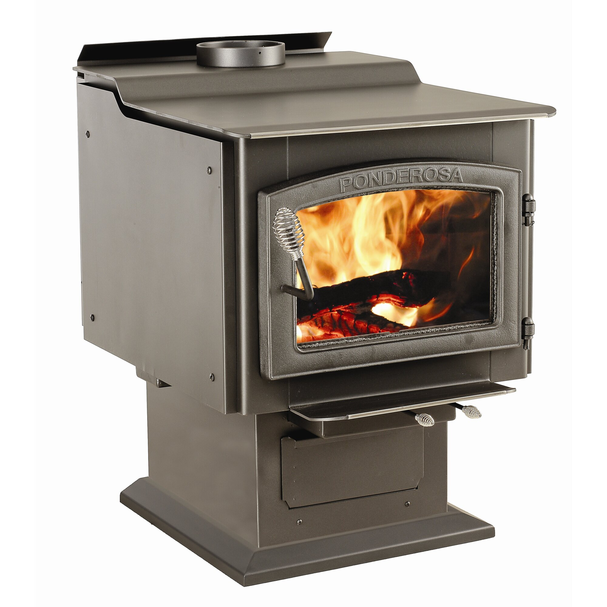 Vogelzang Ponderosa 3,200 sq. ft. Direct Vent Wood Stove & Reviews ...