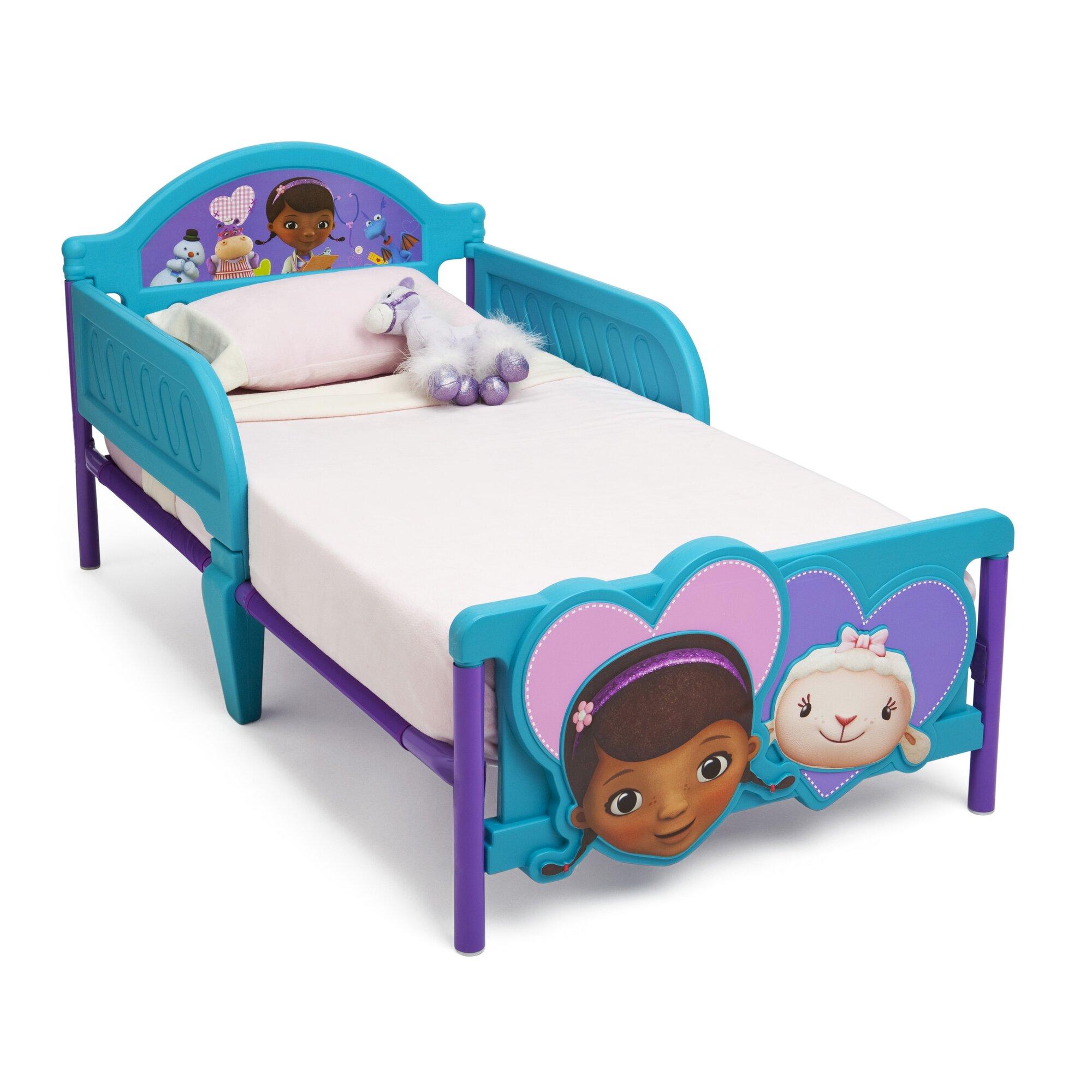 decor idea disney doc mcstuffins convertible toddler bed