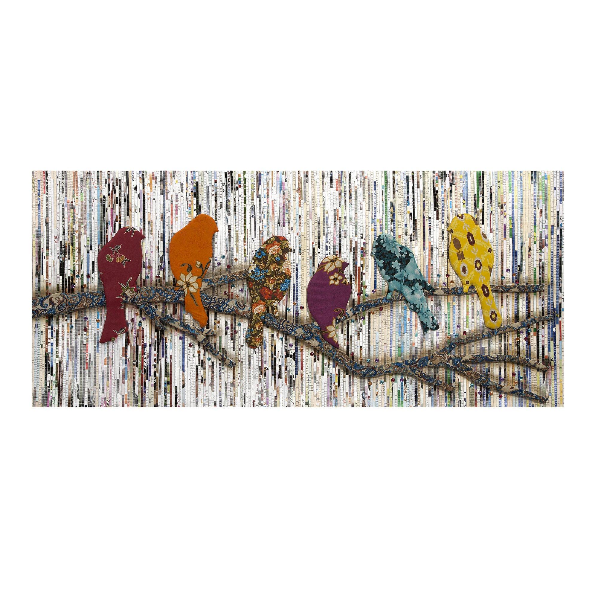 camara batik bird wall dcor - Bird Wall Decor
