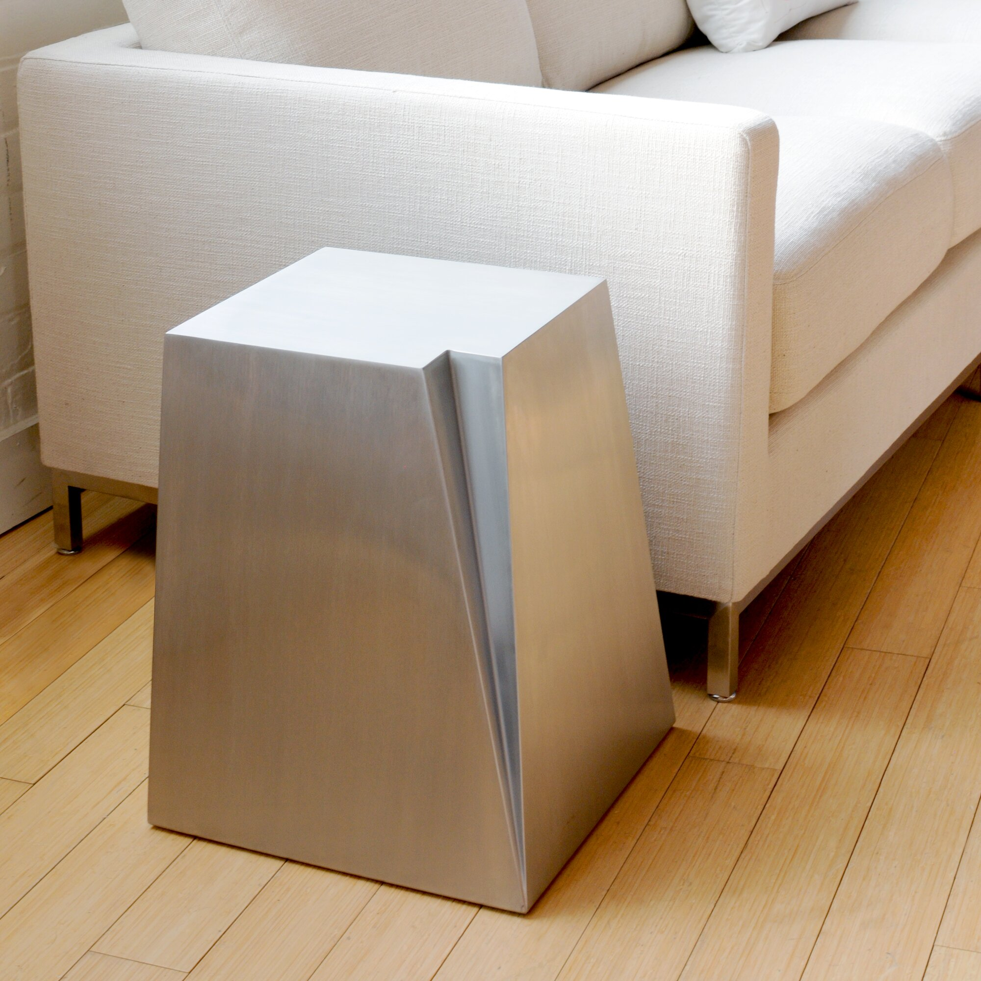 Glacier end table reviews allmodern for Regulation 85 table a