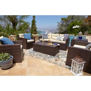Dashawn 6 Piece Sectional Seating Group With Cushion