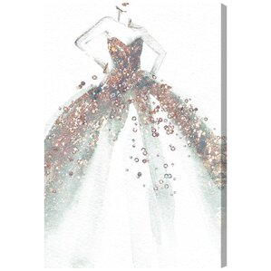 Star of the Ball Canvas Art