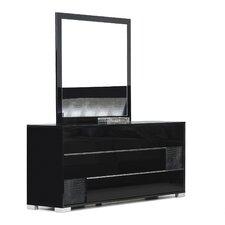 Lenita 3 Drawer Dresser with Mirror by Willa Arlo Interiors
