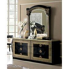 Albury 6 Drawer Double Dresser with Mirror by Bloomsbury Market
