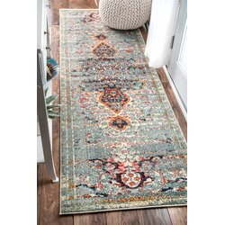 Bungalow Rose Estrel Blue Area Rug Amp Reviews Wayfair