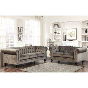 Tunbridge Wells Sofa and Loveseat Set by House of Hampton