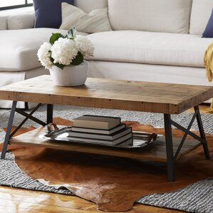 wrought iron coffee tables you'll love | wayfair